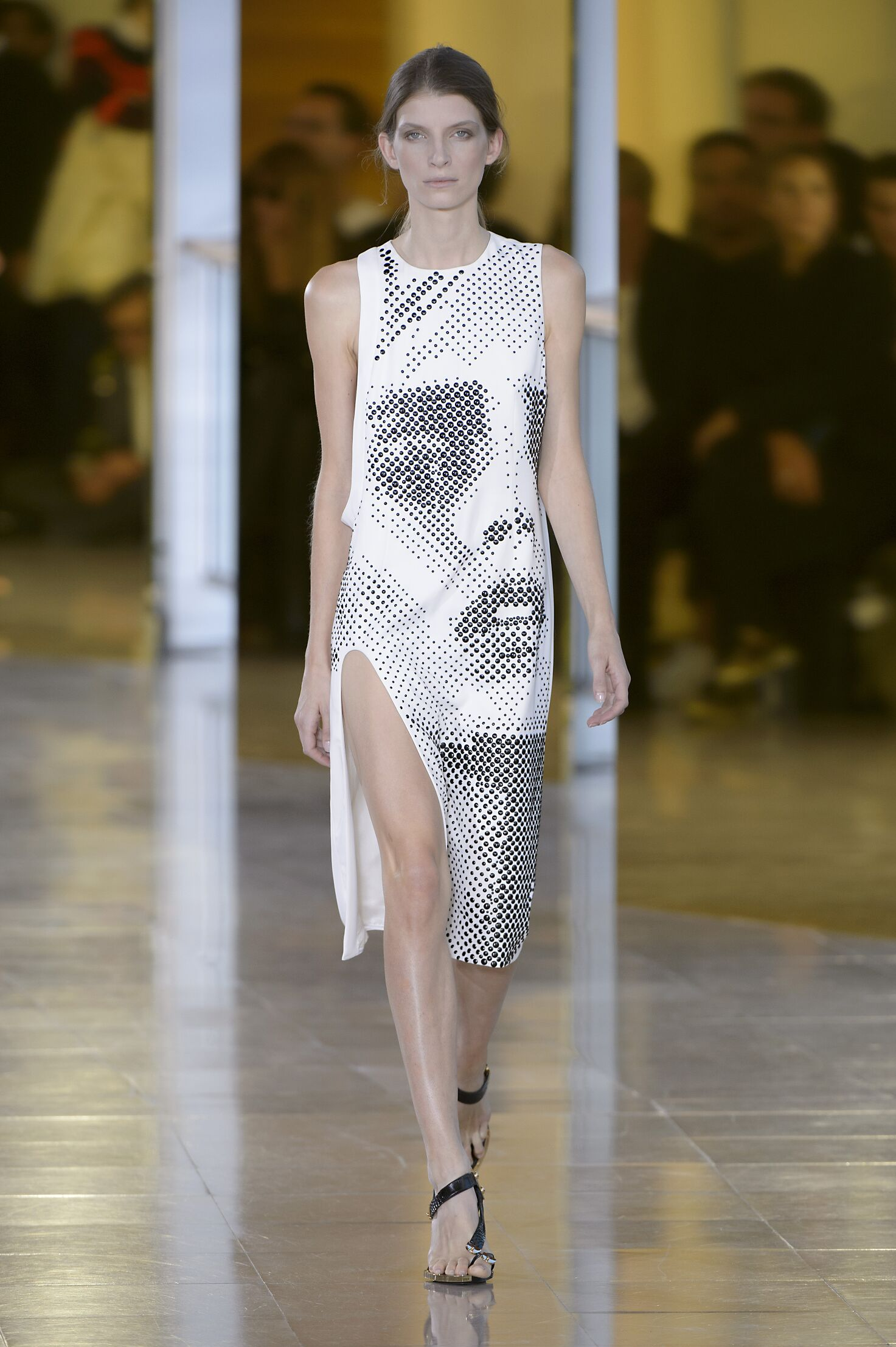 Anthony Vaccarello Spring Summer 2016 Womens Collection Paris Fashion Week