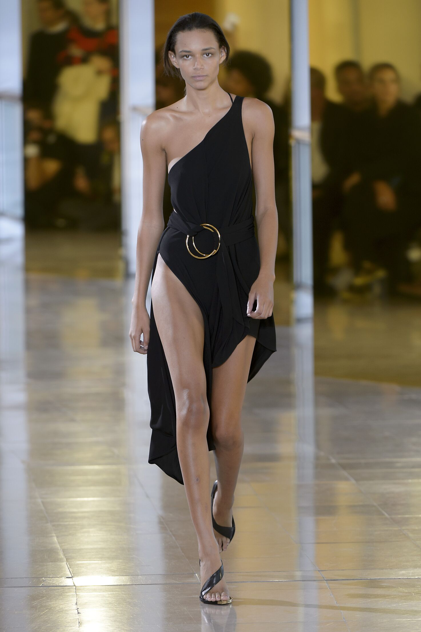 Catwalk Anthony Vaccarello Summer 2016