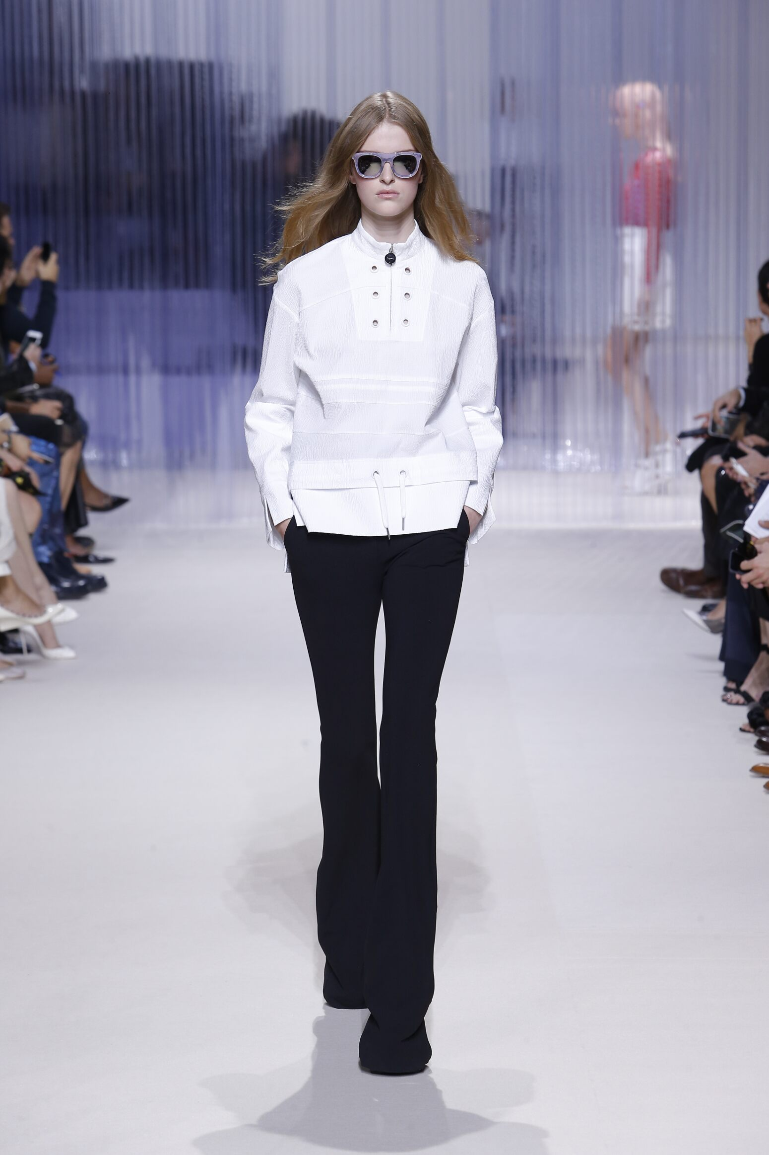Fashion Model Carven Catwalk