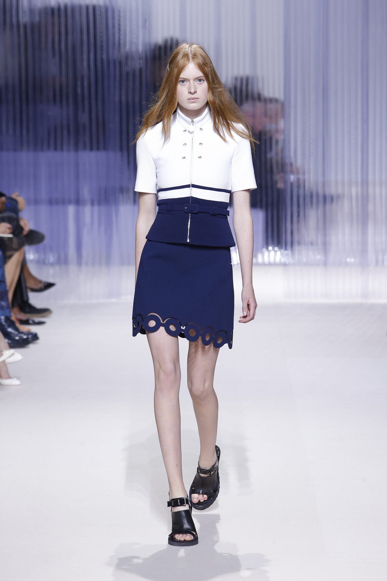 Fashion Woman Model Carven Catwalk
