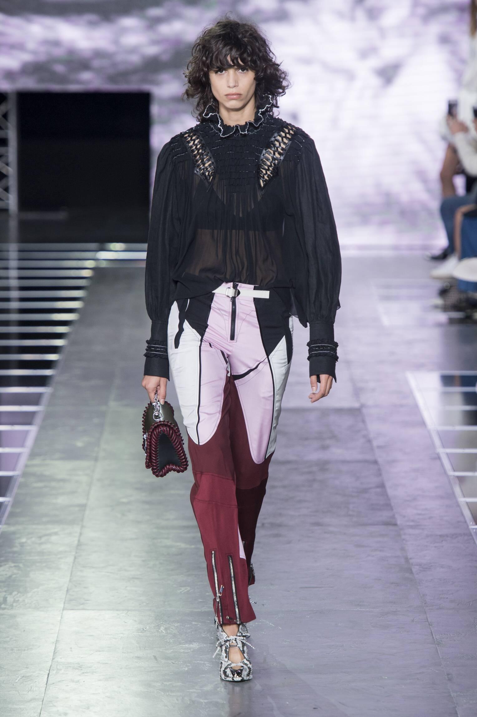 Fashion Woman Model Louis Vuitton Catwalk