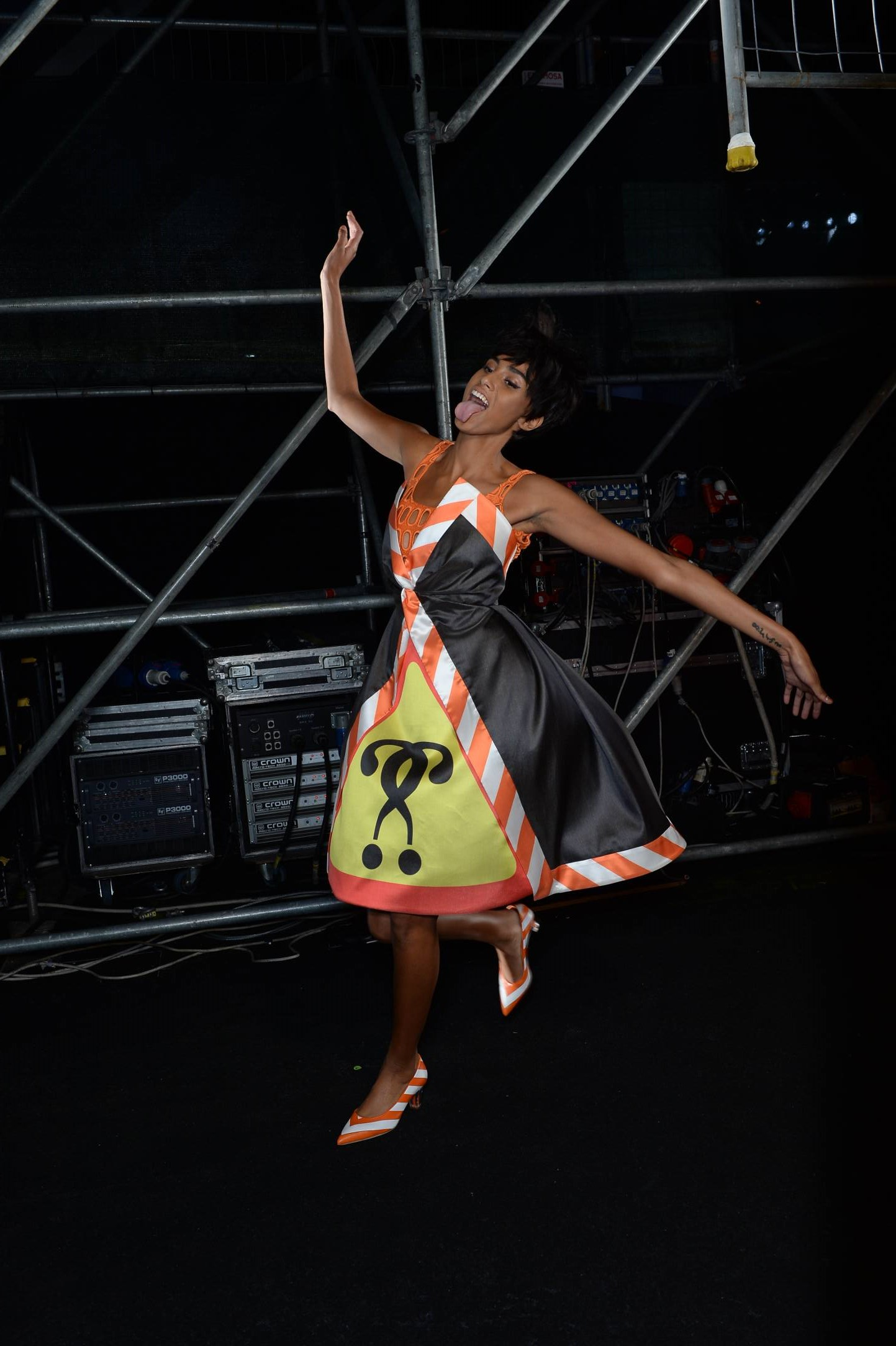 Moschino Backstage Fashion Model Womenswear