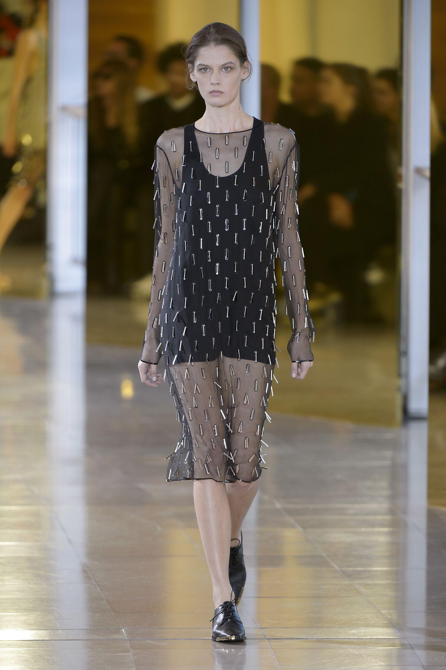 SS 2016 Anthony Vaccarello Fashion Show