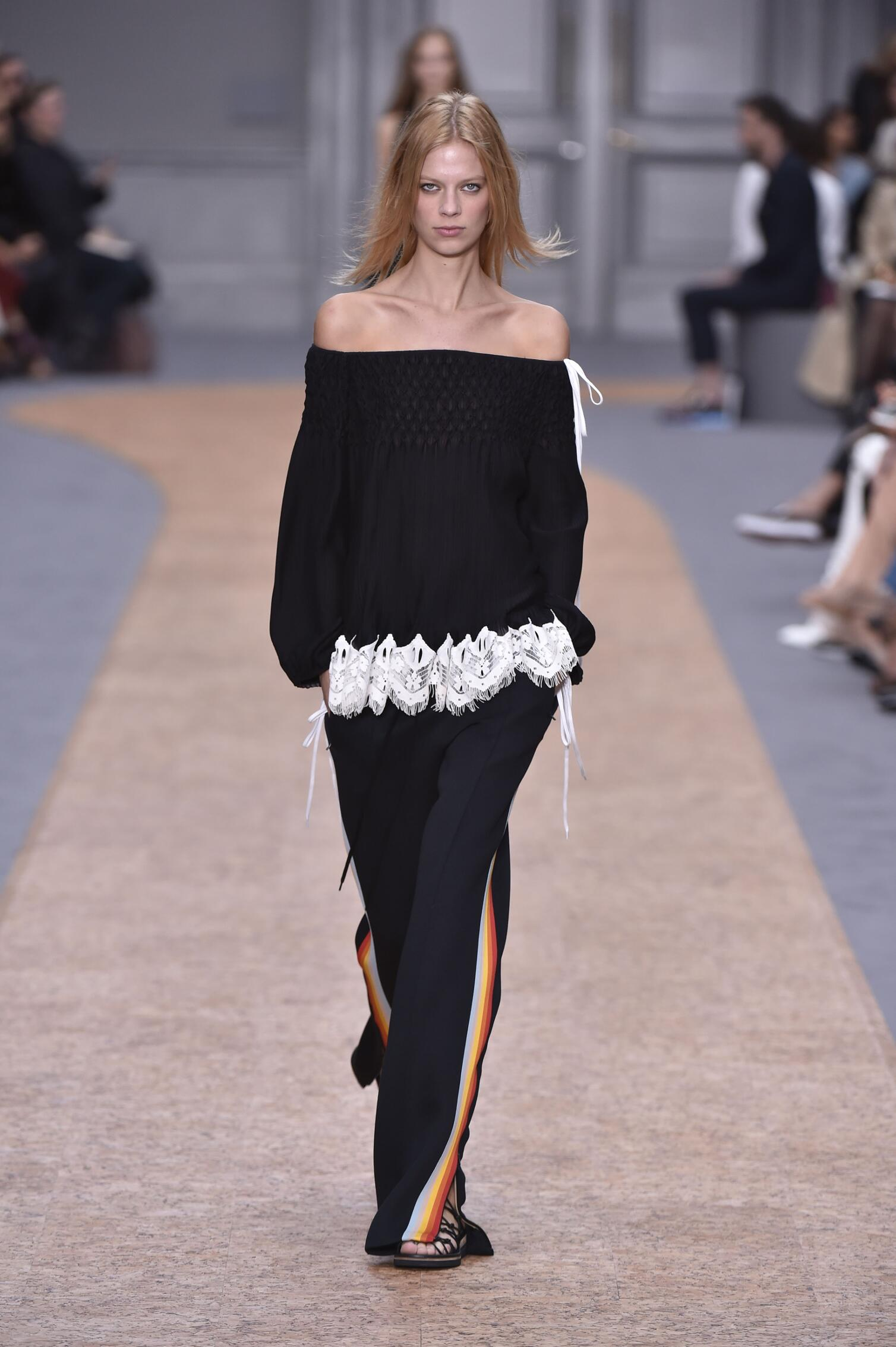 Spring Summer 2016 Woman Paris Chloé Collection