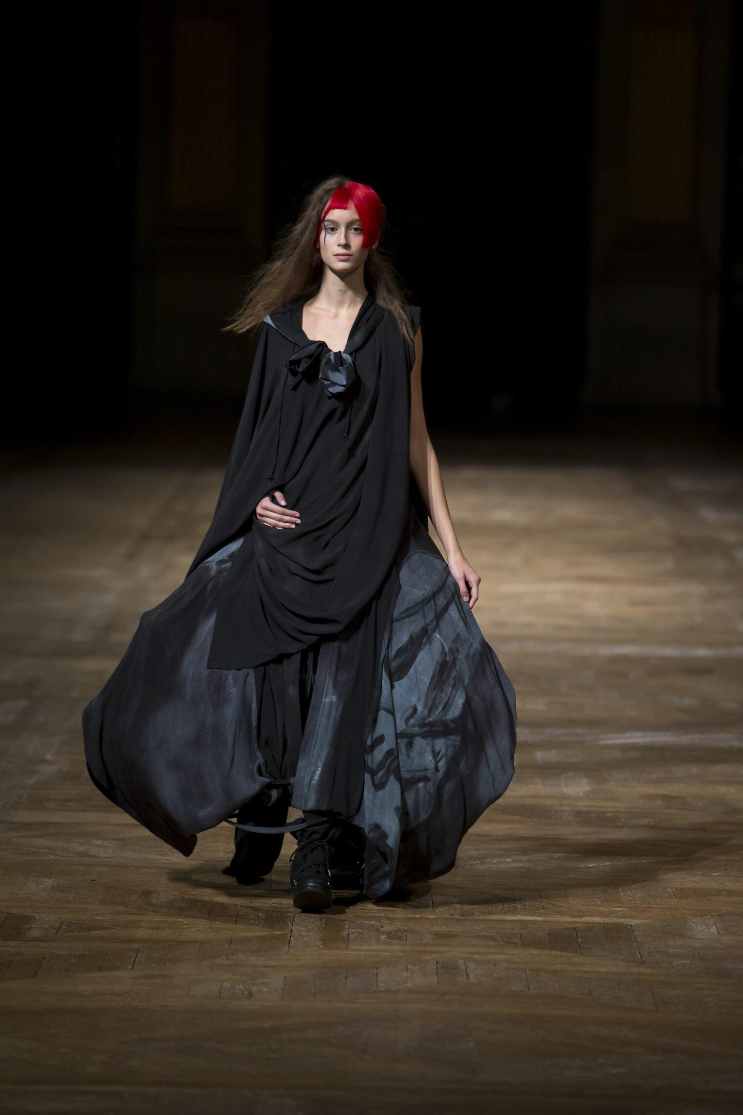 Yohji Yamamoto Woman Style