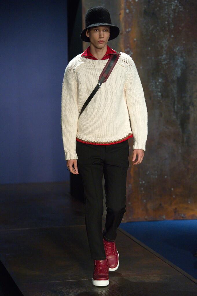 2016 Catwalk Coach Man Fashion Show Winter
