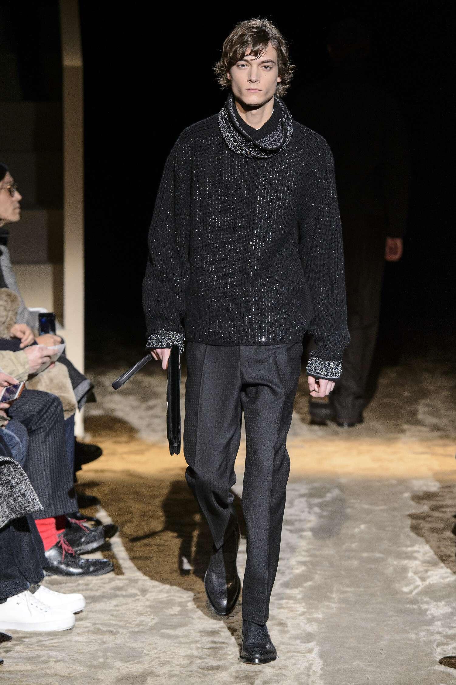 2016 Ermenegildo Zegna Couture Fall Catwalk