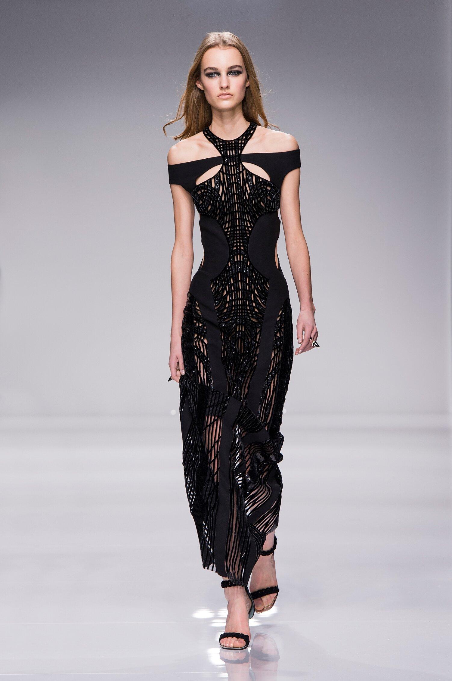 Atelier Versace Couture Paris Fashion Week Womenswear