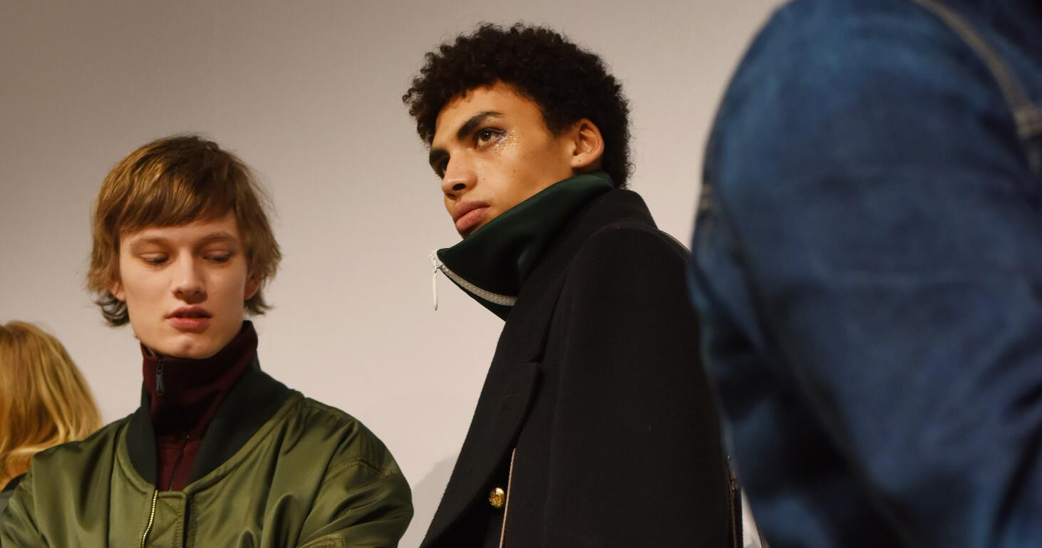 Backstage Burberry Models 2016 London