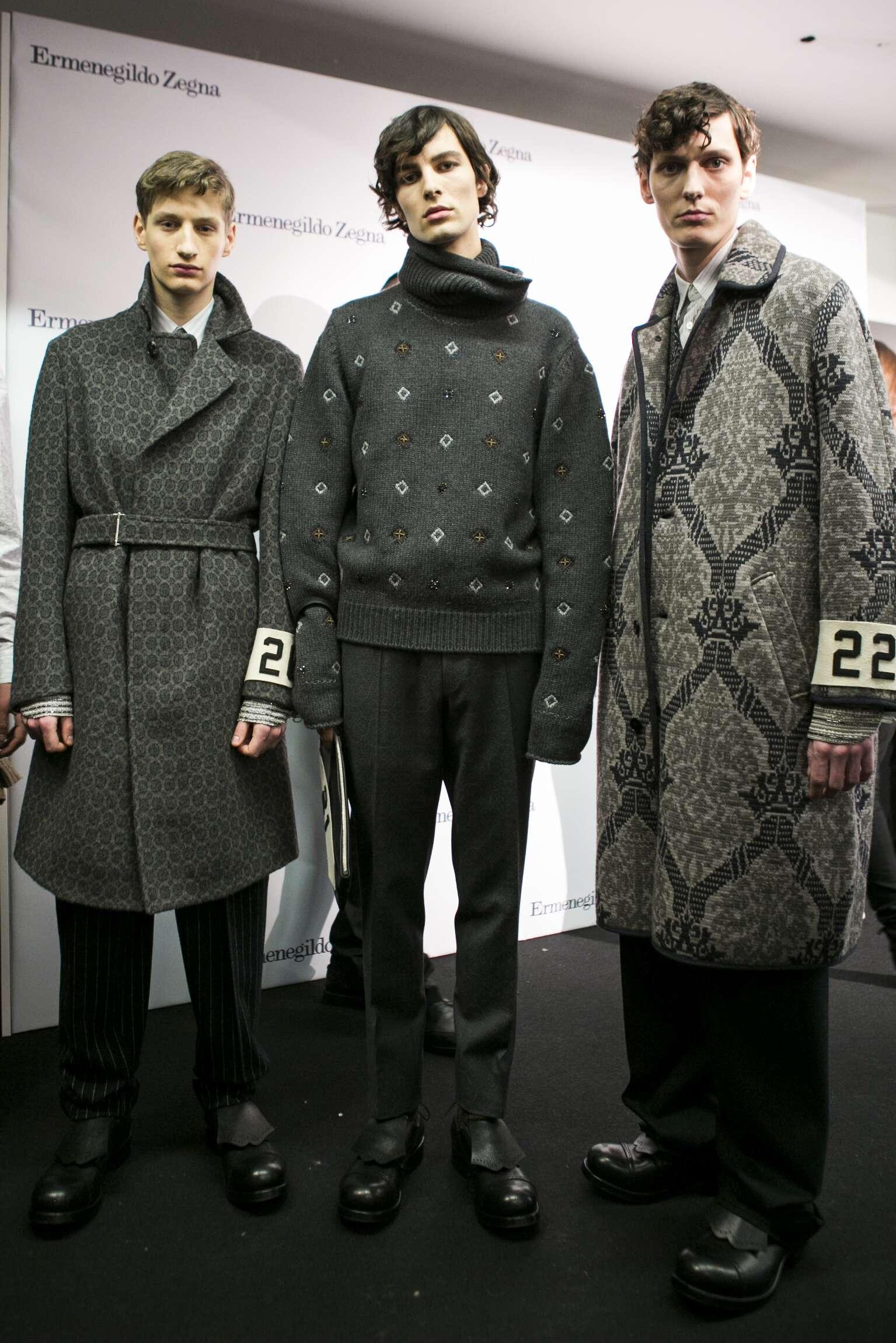 Backstage Ermenegildo Zegna Couture 2016 2017