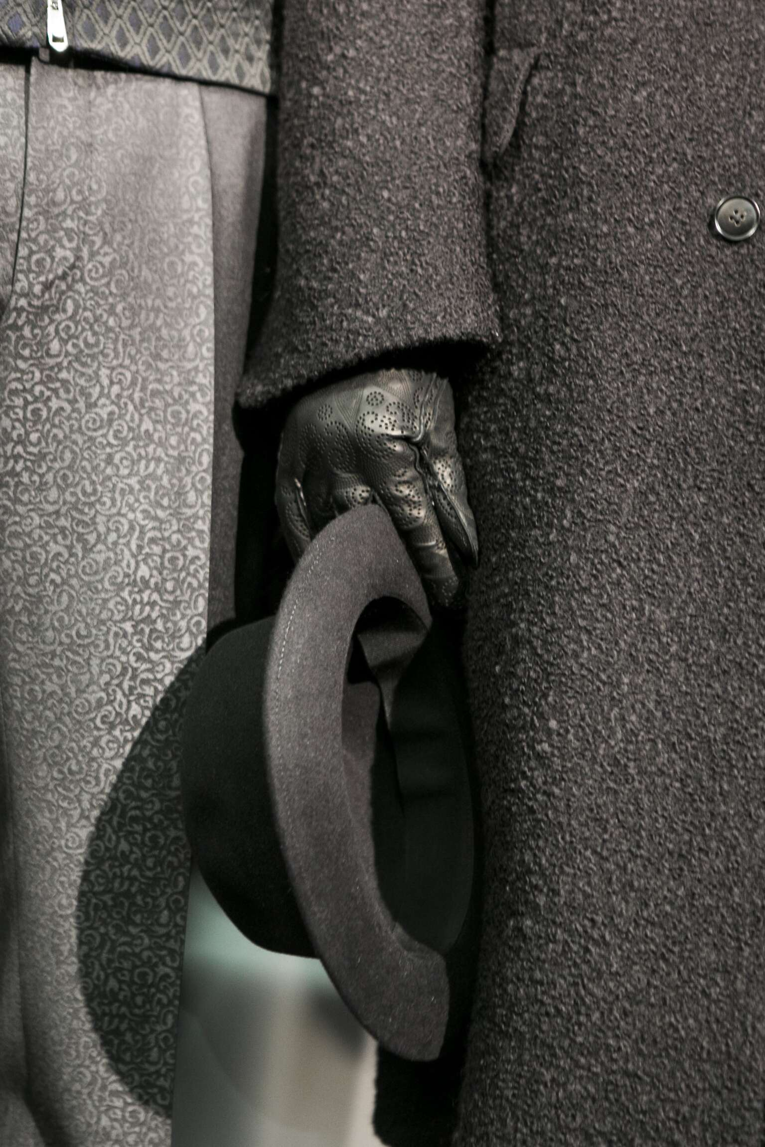 Backstage Ermenegildo Zegna Couture Collection Detail
