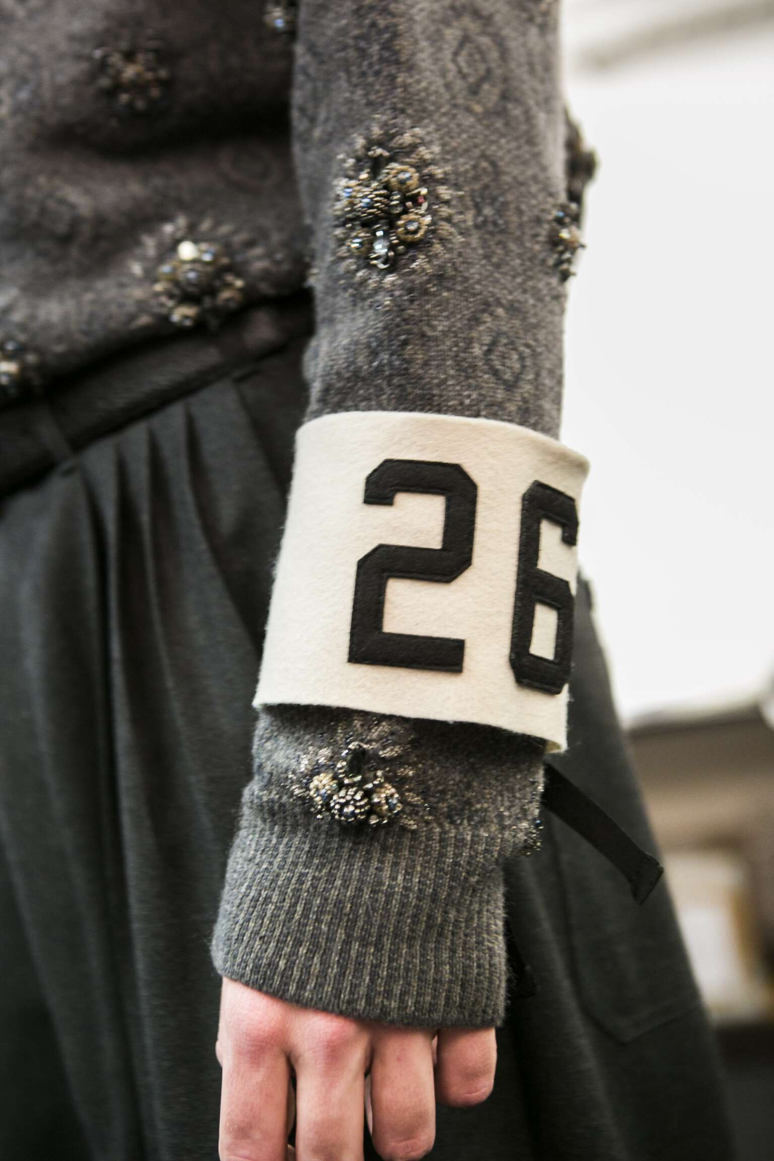 Backstage Ermenegildo Zegna Couture Fashion Show Details