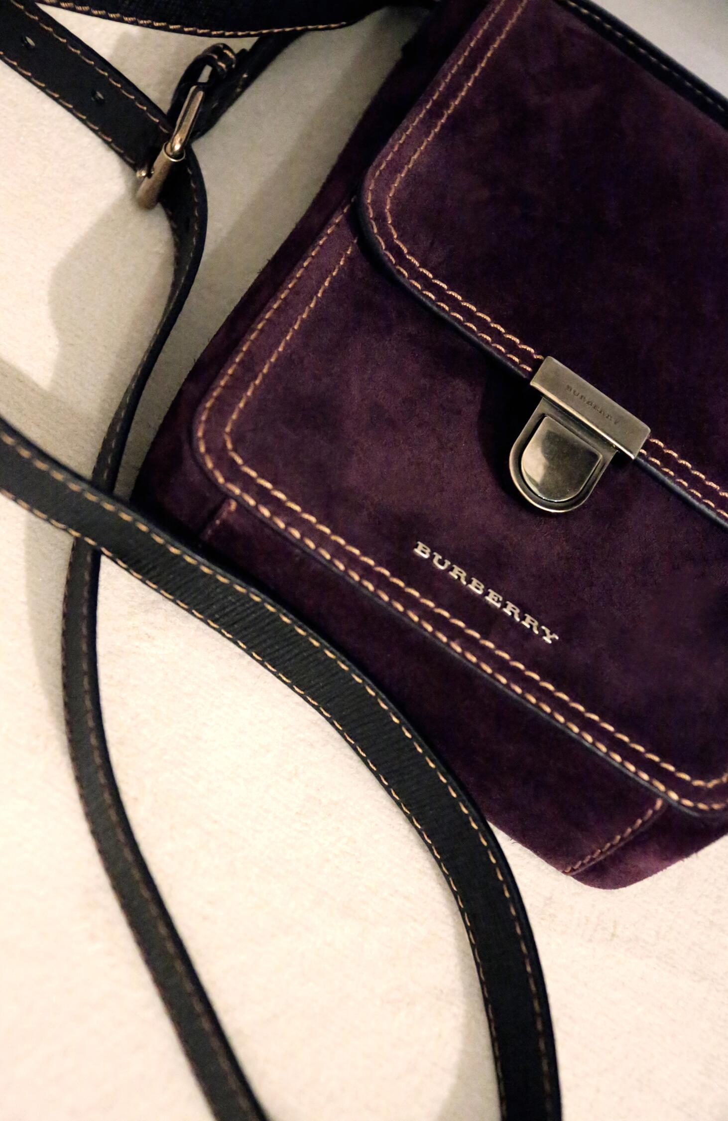 Backstage Man Burberry Detail Bag