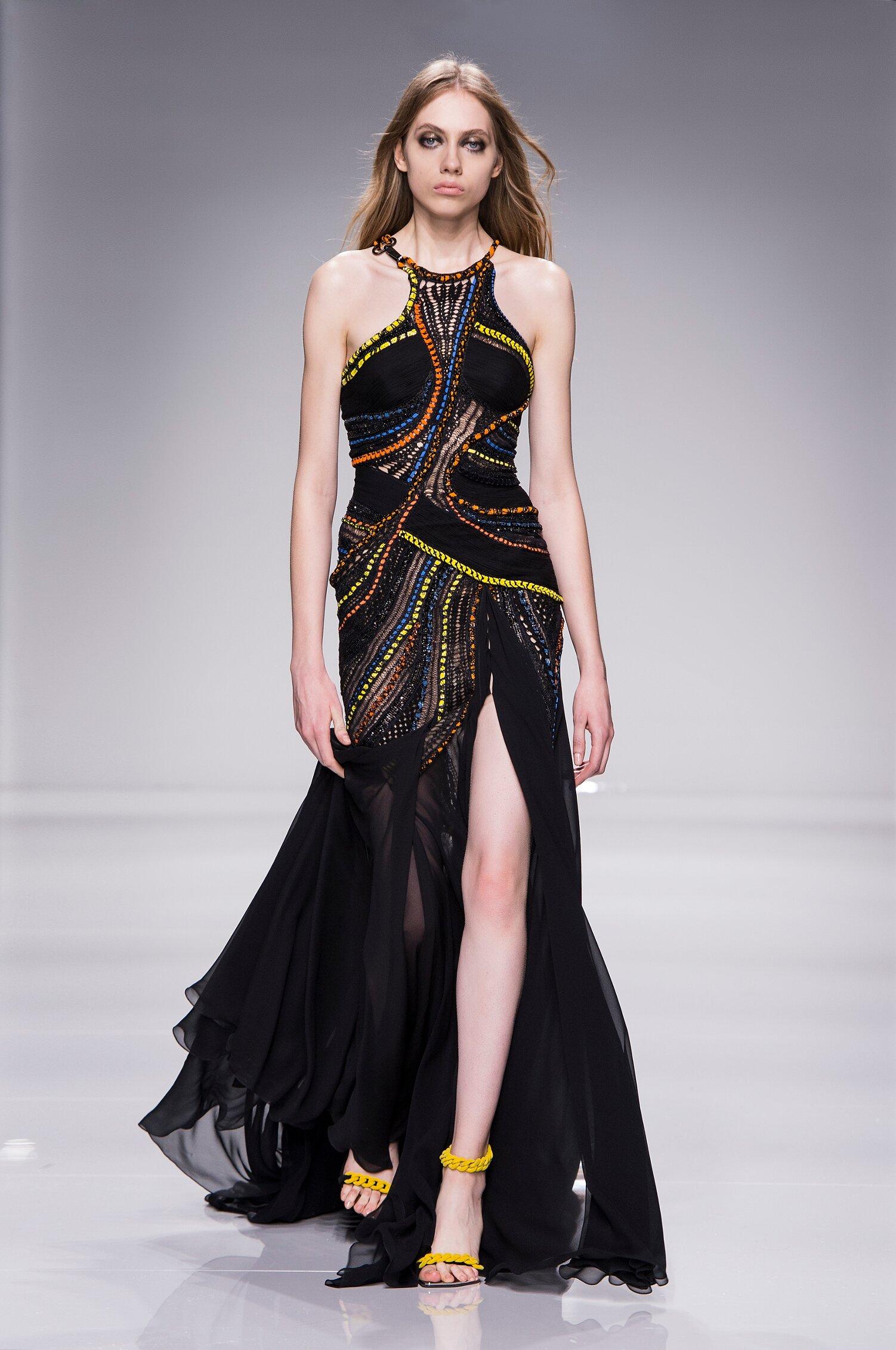 Catwalk Atelier Versace Couture Woman Fashion Show Summer 2016