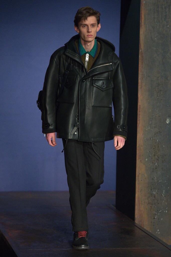Catwalk Coach Man Fashion Show Winter 2016