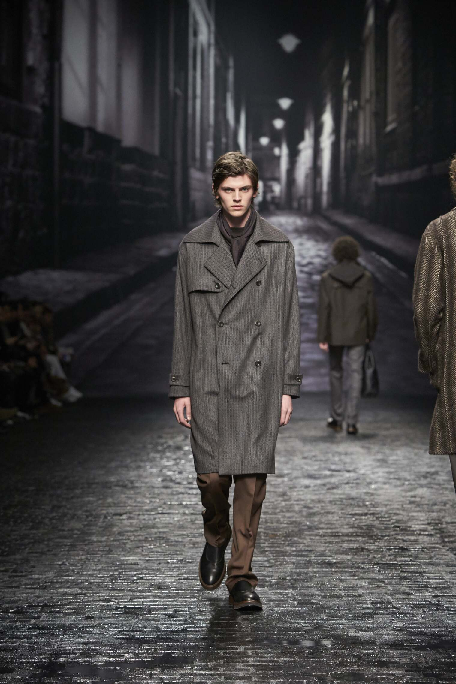 Catwalk Corneliani Man Fashion Show Winter 2016