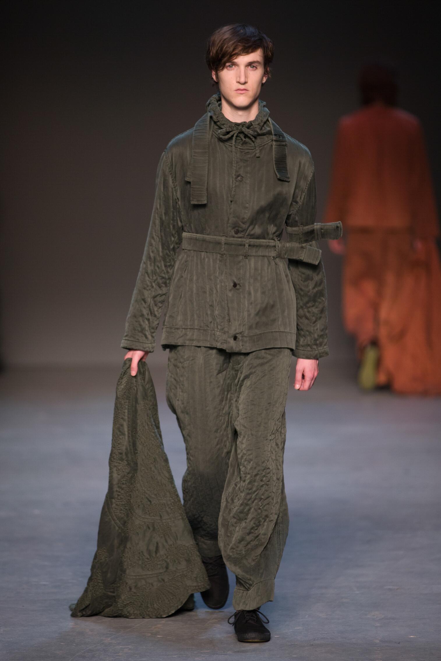 Catwalk Craig Green Man Fashion Show Winter 2016