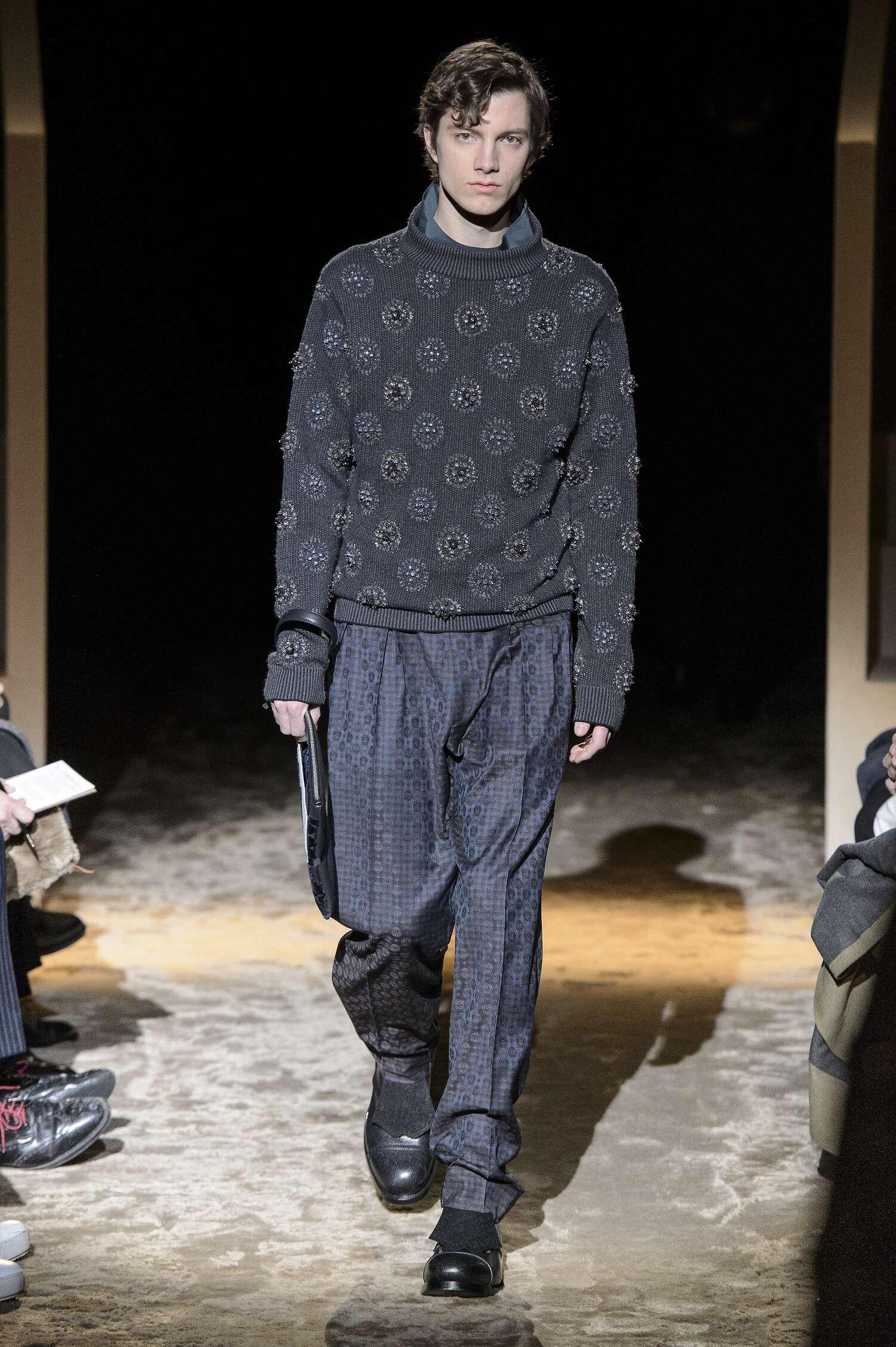 Catwalk Ermenegildo Zegna Couture Man Fashion Show Winter 2016