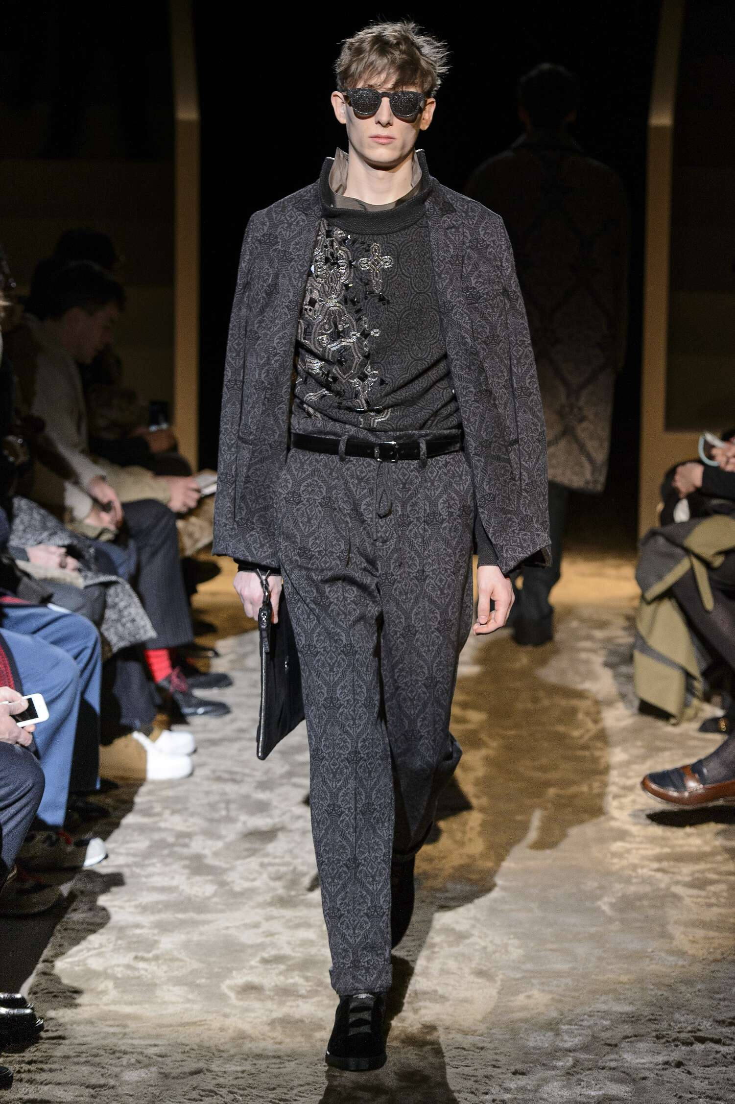 Catwalk Ermenegildo Zegna Couture Winter 2016