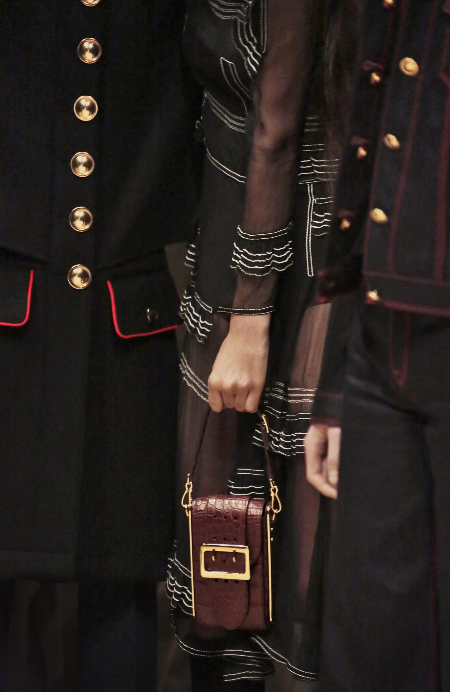 Detail Burberry Backstage