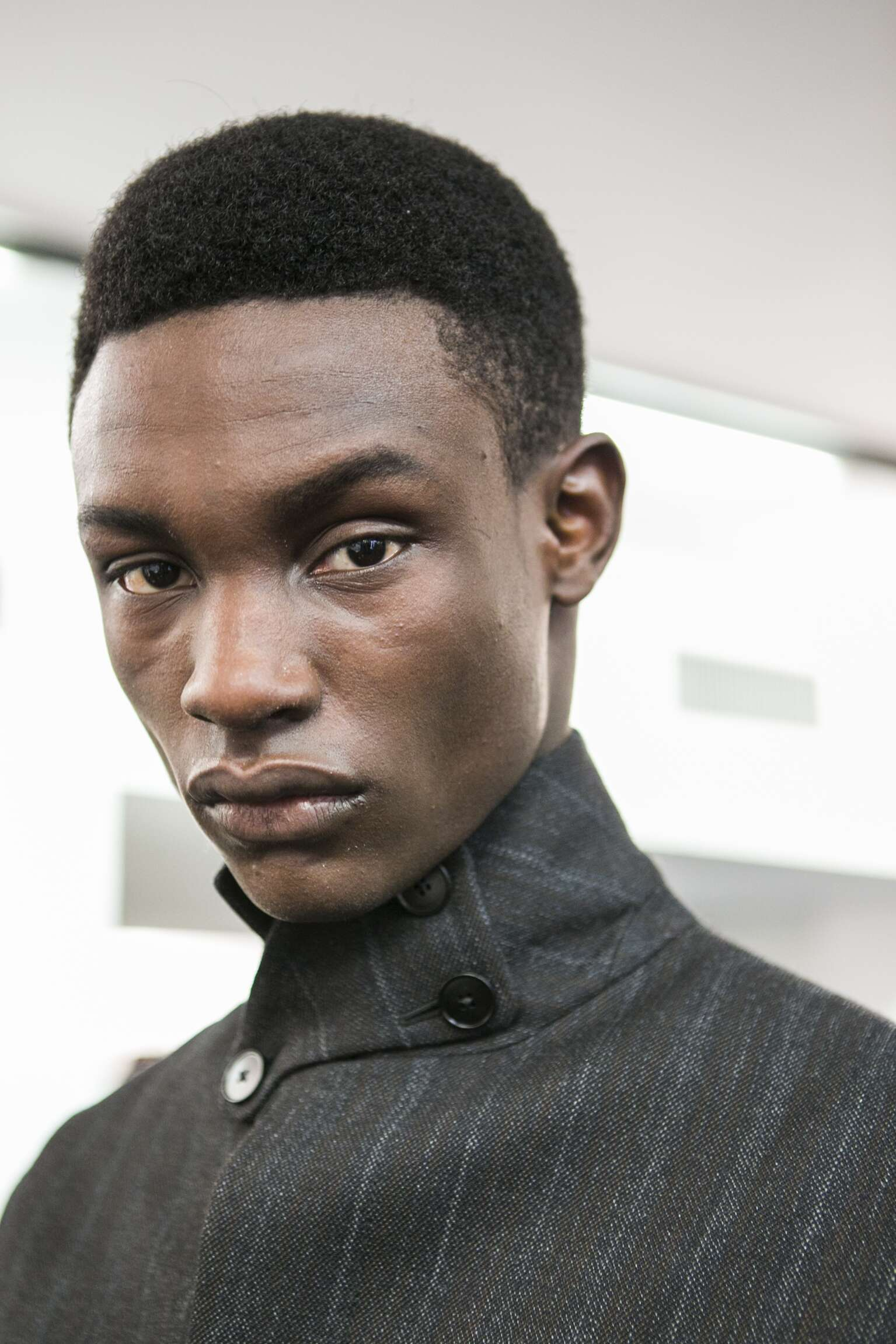 Ermenegildo Zegna Couture Backstage Fashion Model Milan