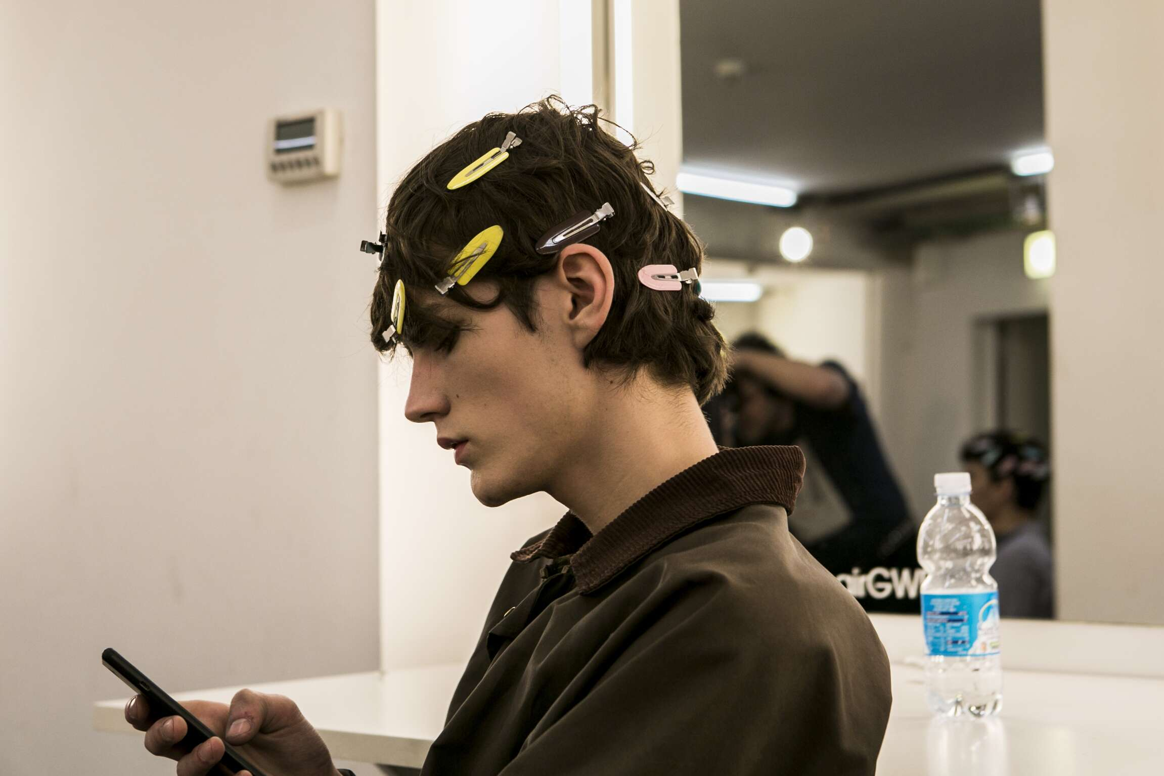 Ermenegildo Zegna Couture Backstage Model