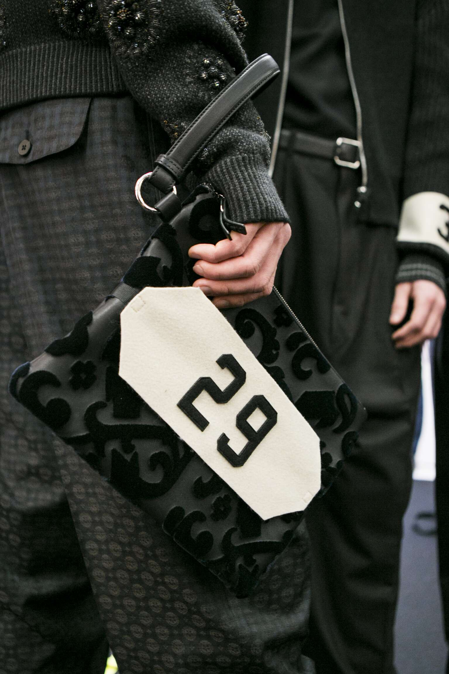 Ermenegildo Zegna Couture Bag Detail