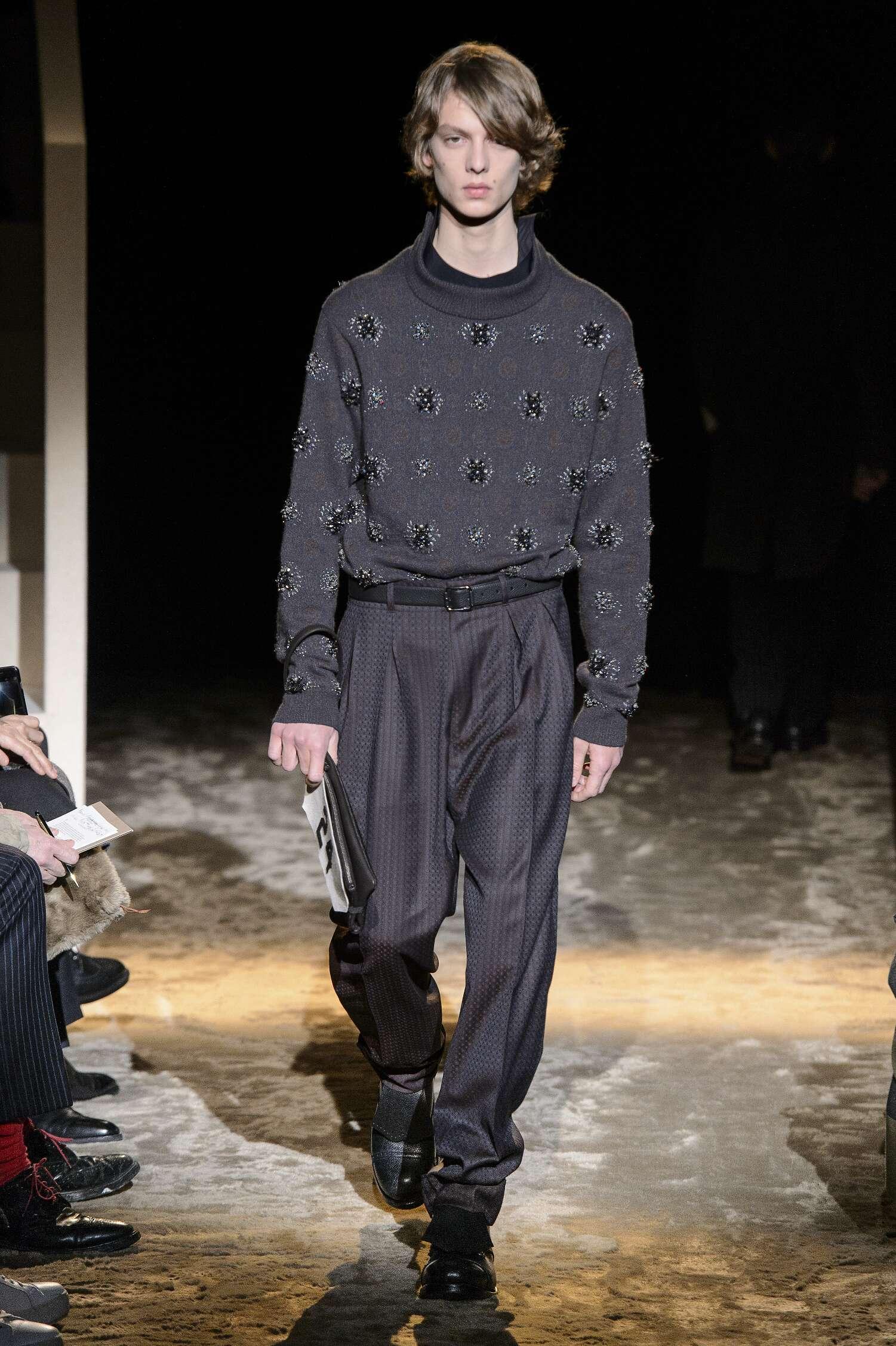 Ermenegildo Zegna Couture Fall 2016 Catwalk