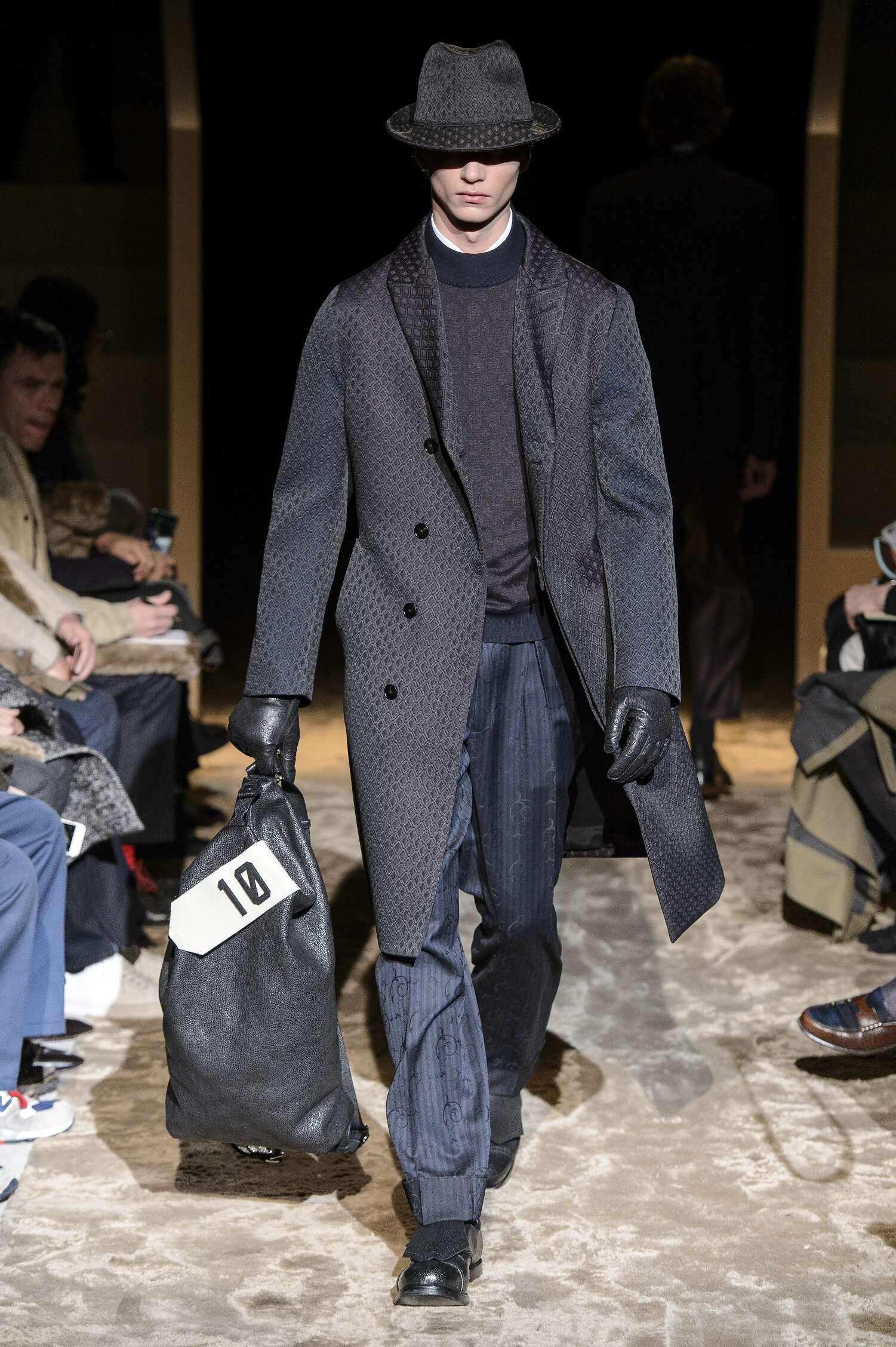 Ermenegildo Zegna Couture Fall Winter 2016 Mens Collection Milan Fashion Week