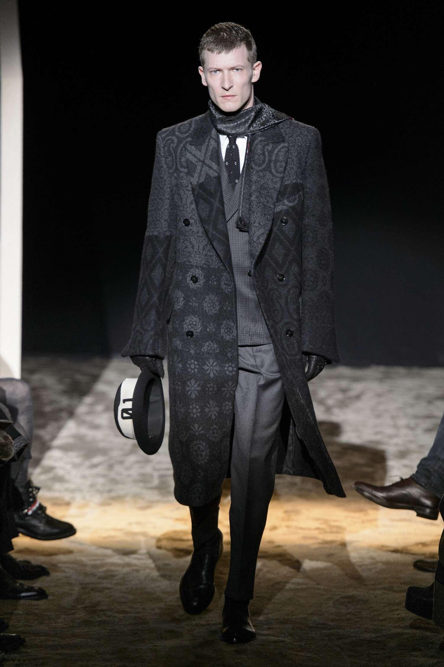 Ermenegildo Zegna Couture Fashion Show FW 2016 17