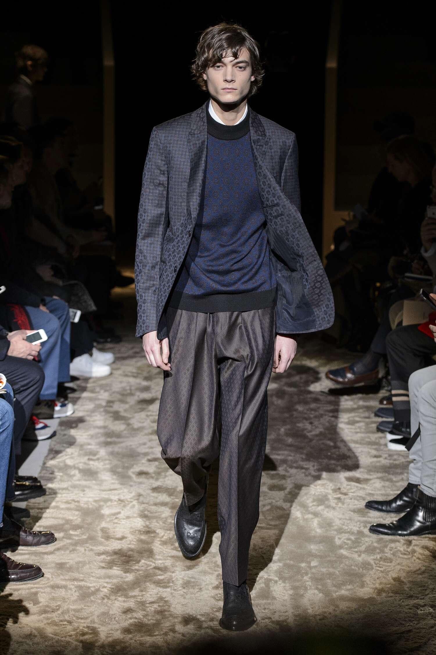 Ermenegildo Zegna Couture Man 2016 17