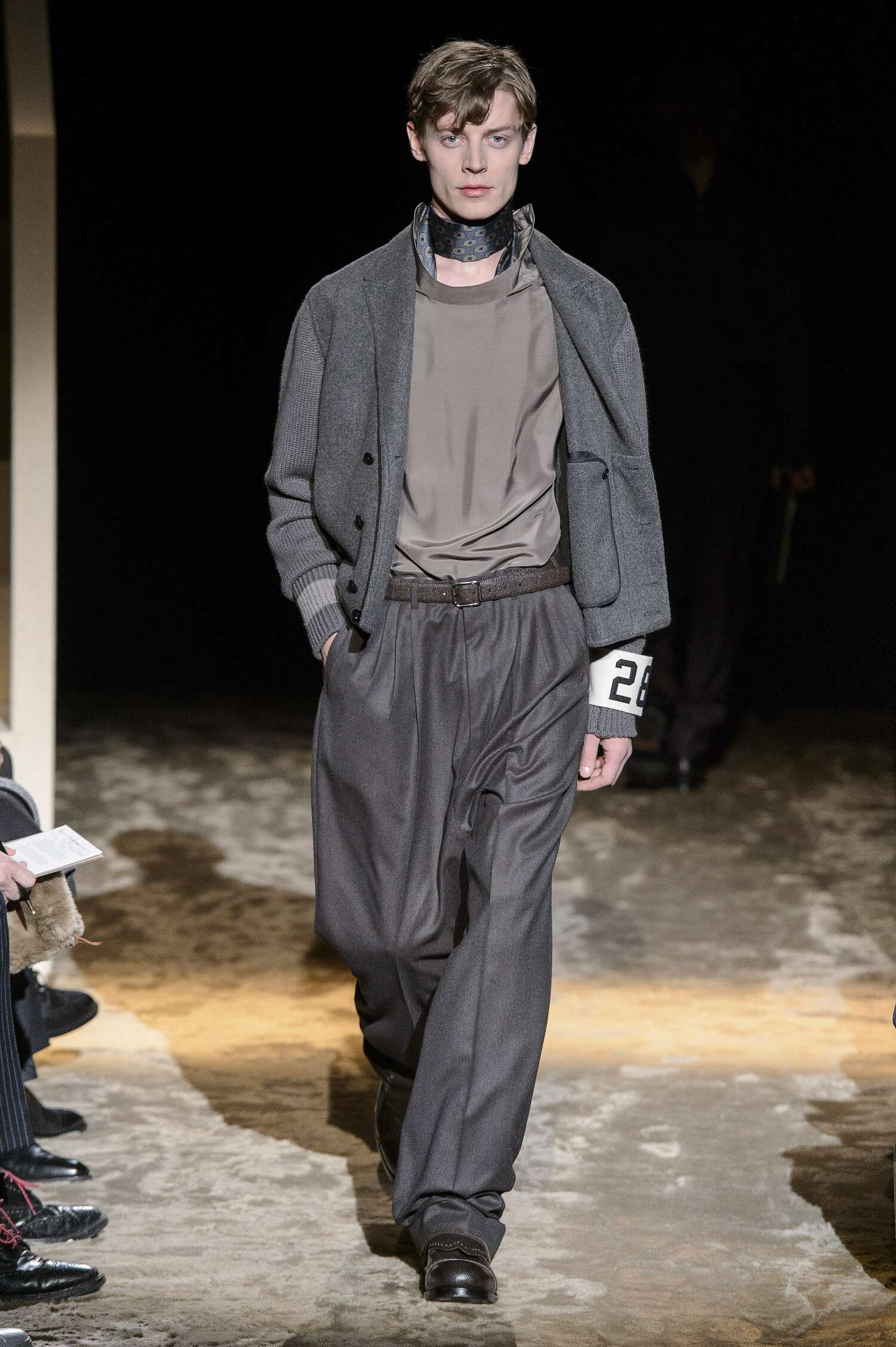 Ermenegildo Zegna Couture Winter 2016 2017 Catwalk