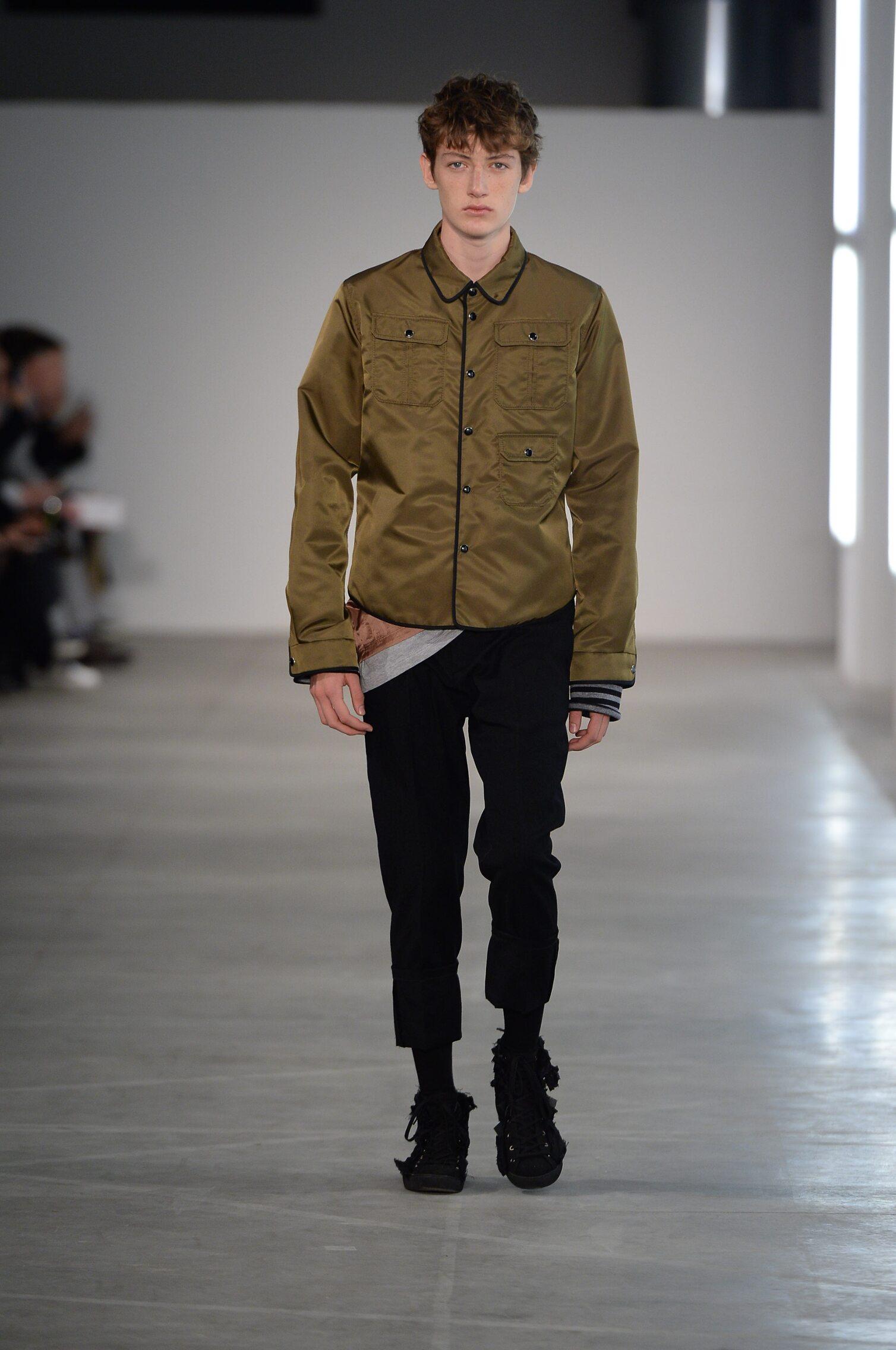 Fall 2016 17 Man Fashion Show N°21