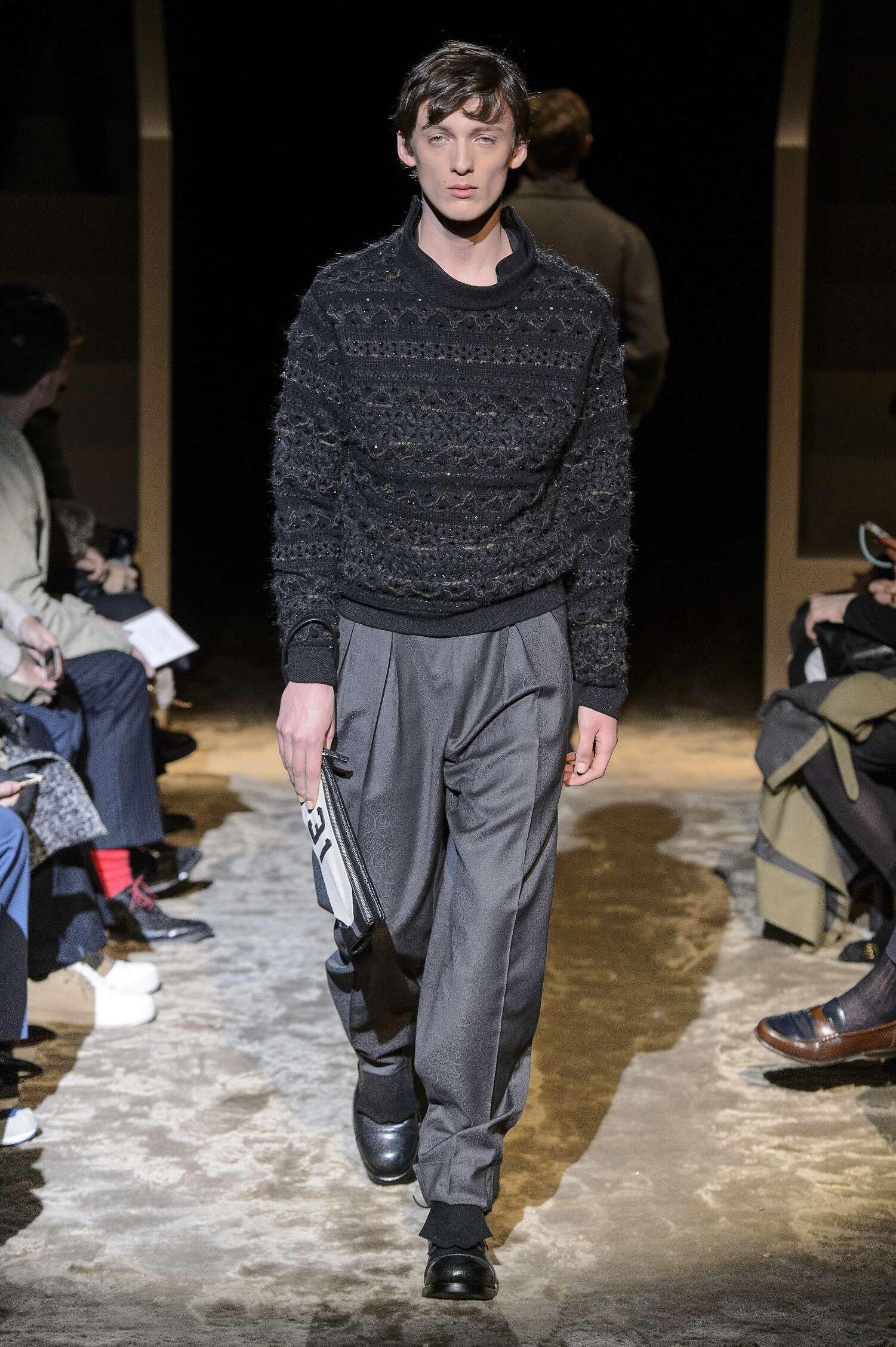 Fall Fashion 2016 Ermenegildo Zegna Couture