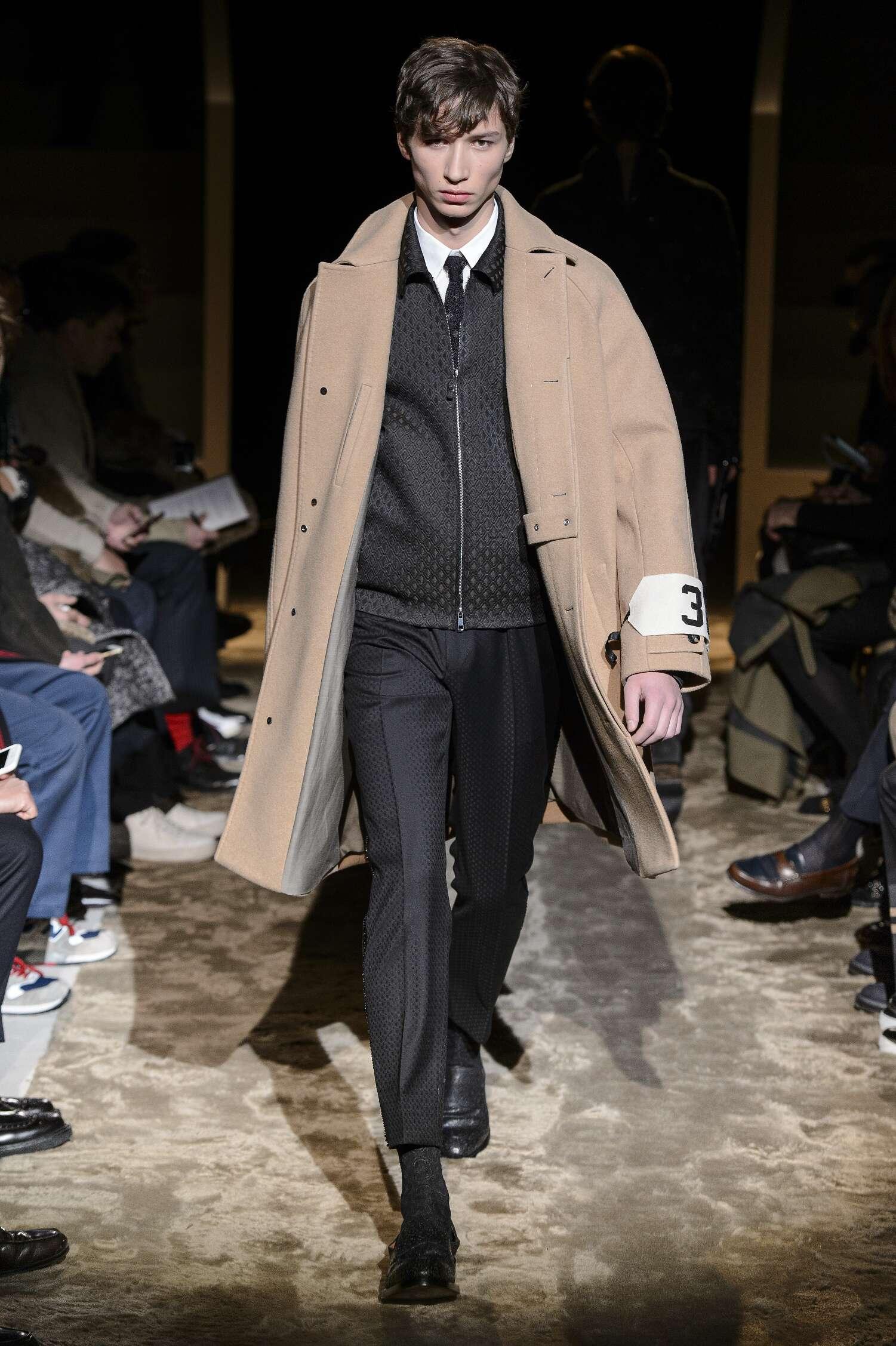 Fall Winter 2016 Man Milan Ermenegildo Zegna Couture Collection