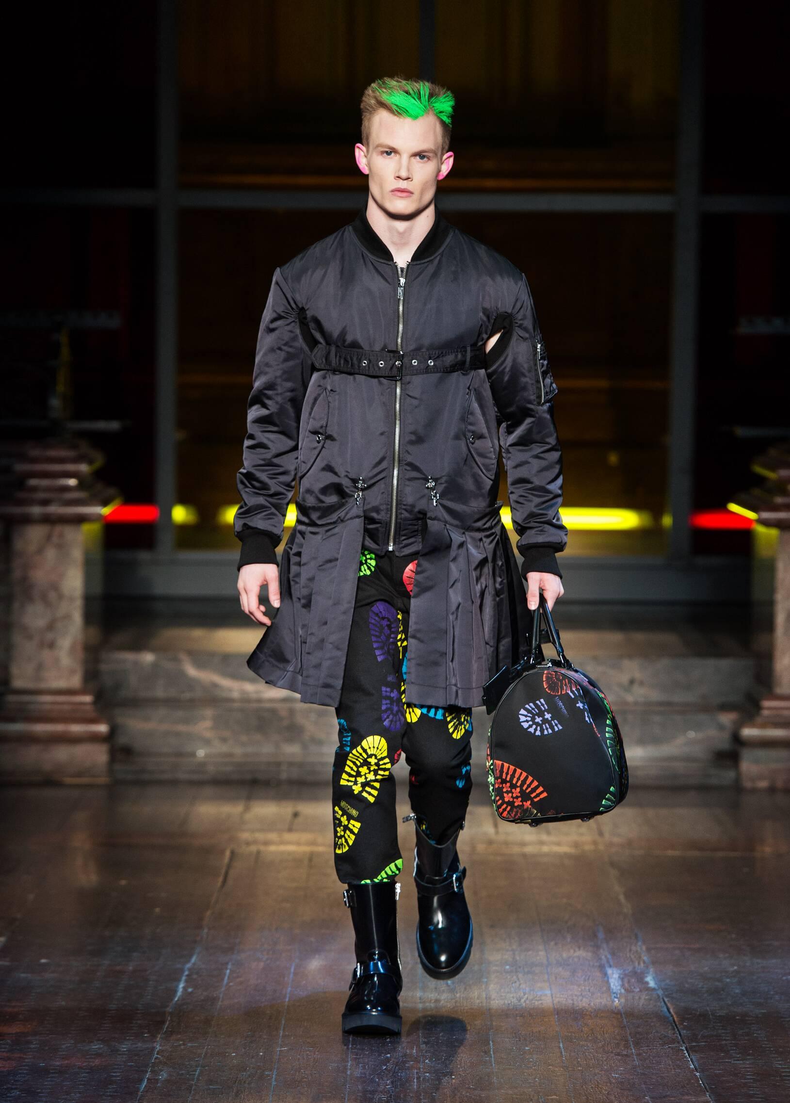 Fashion 2016 Man Style Moschino