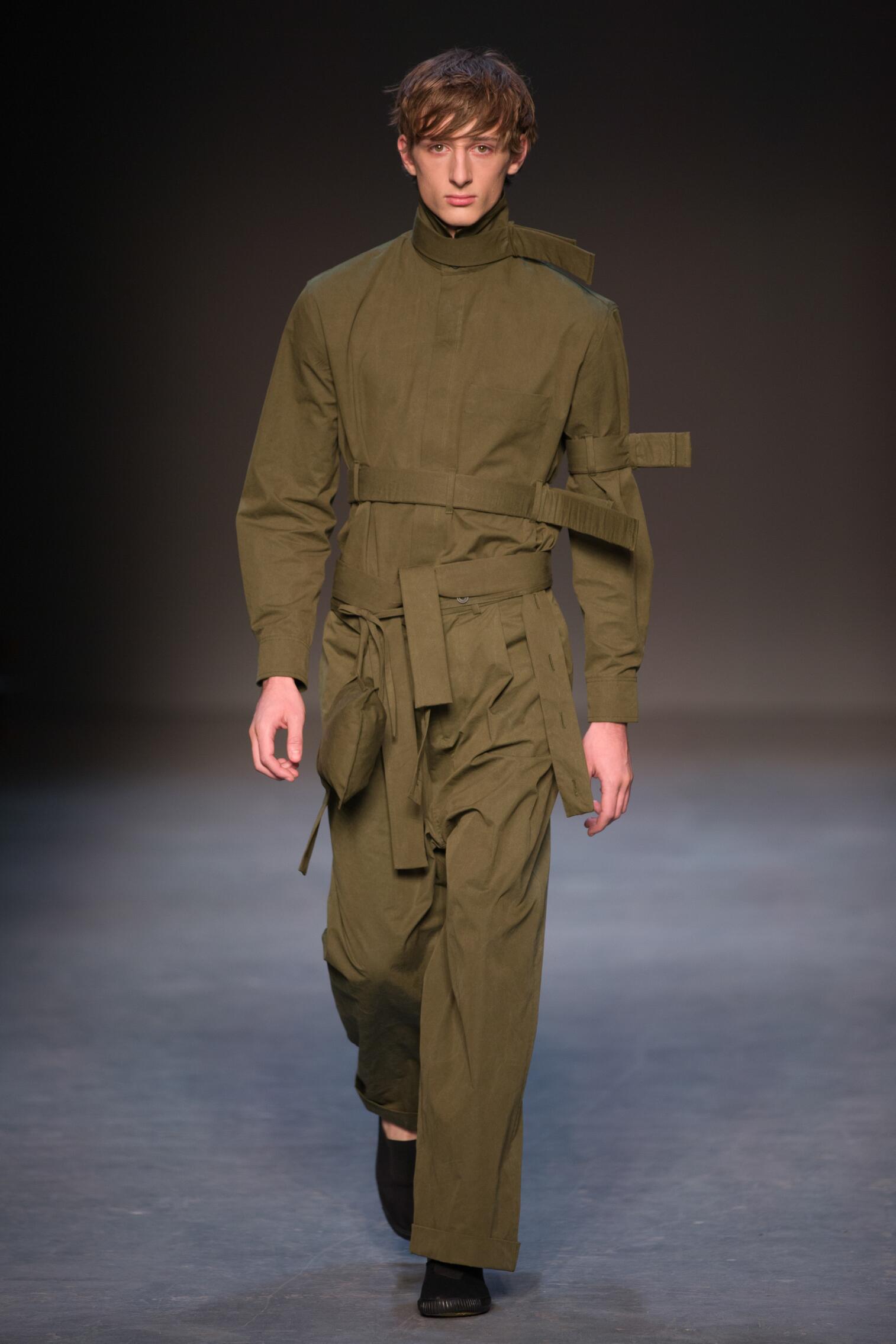 Fashion Model Craig Green Catwalk