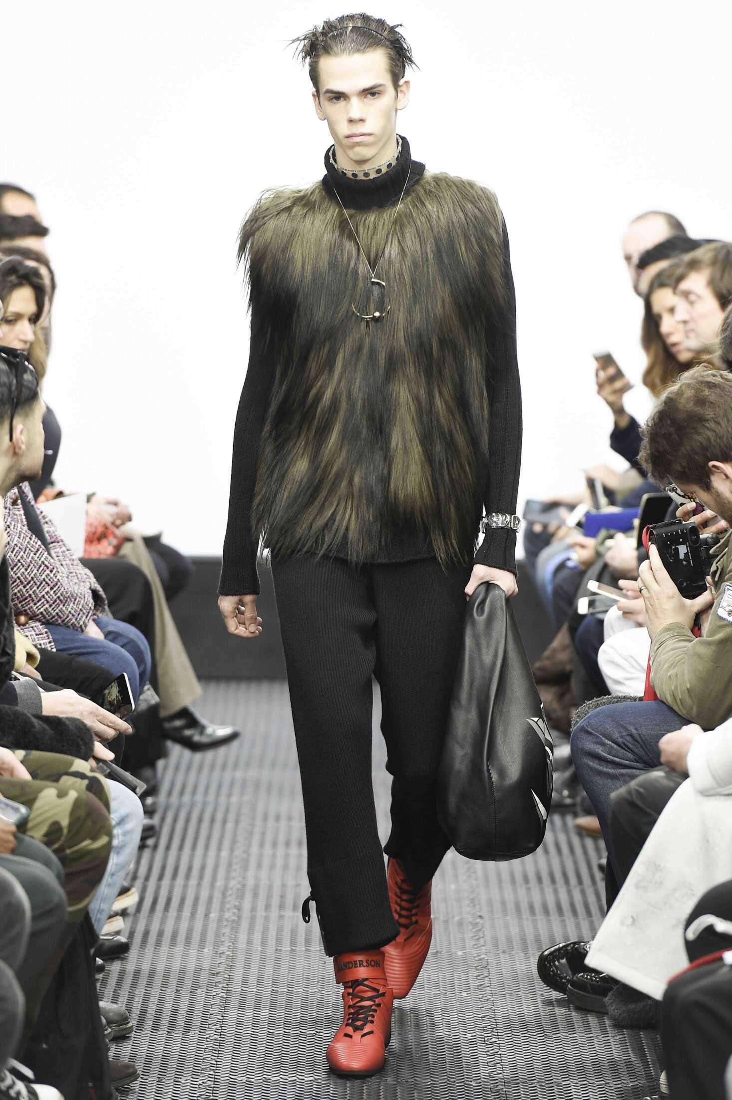 Fashion Model J.W. Anderson Catwalk