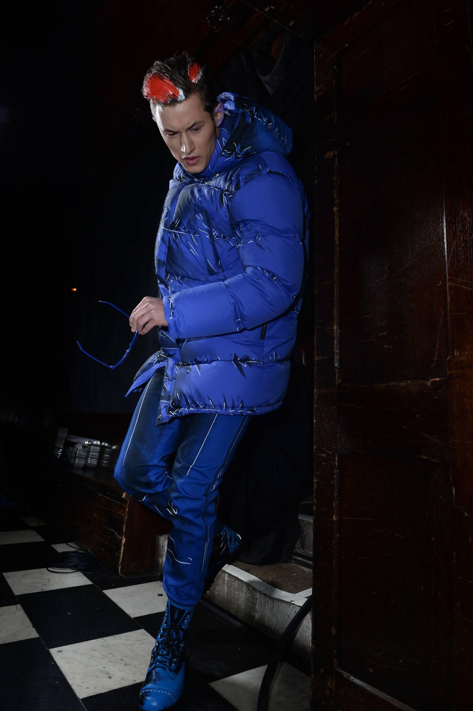 Fashion Show Menswear Backstage Moschino