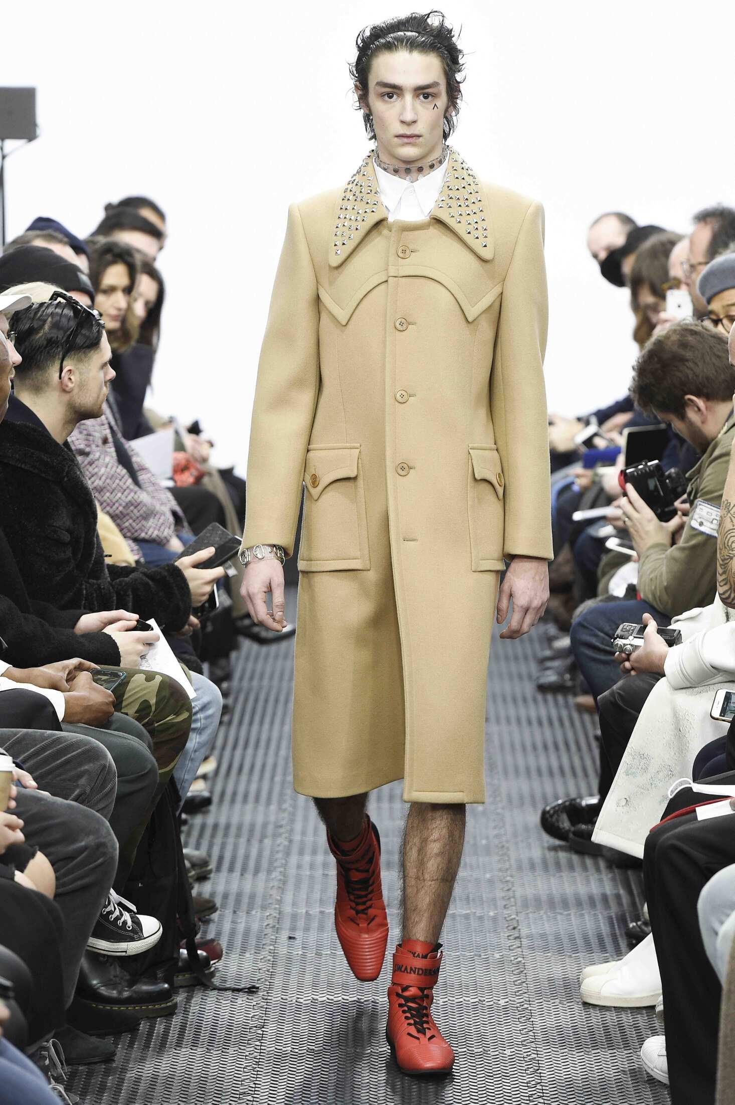 J.W. Anderson London Fashion Week Menswear