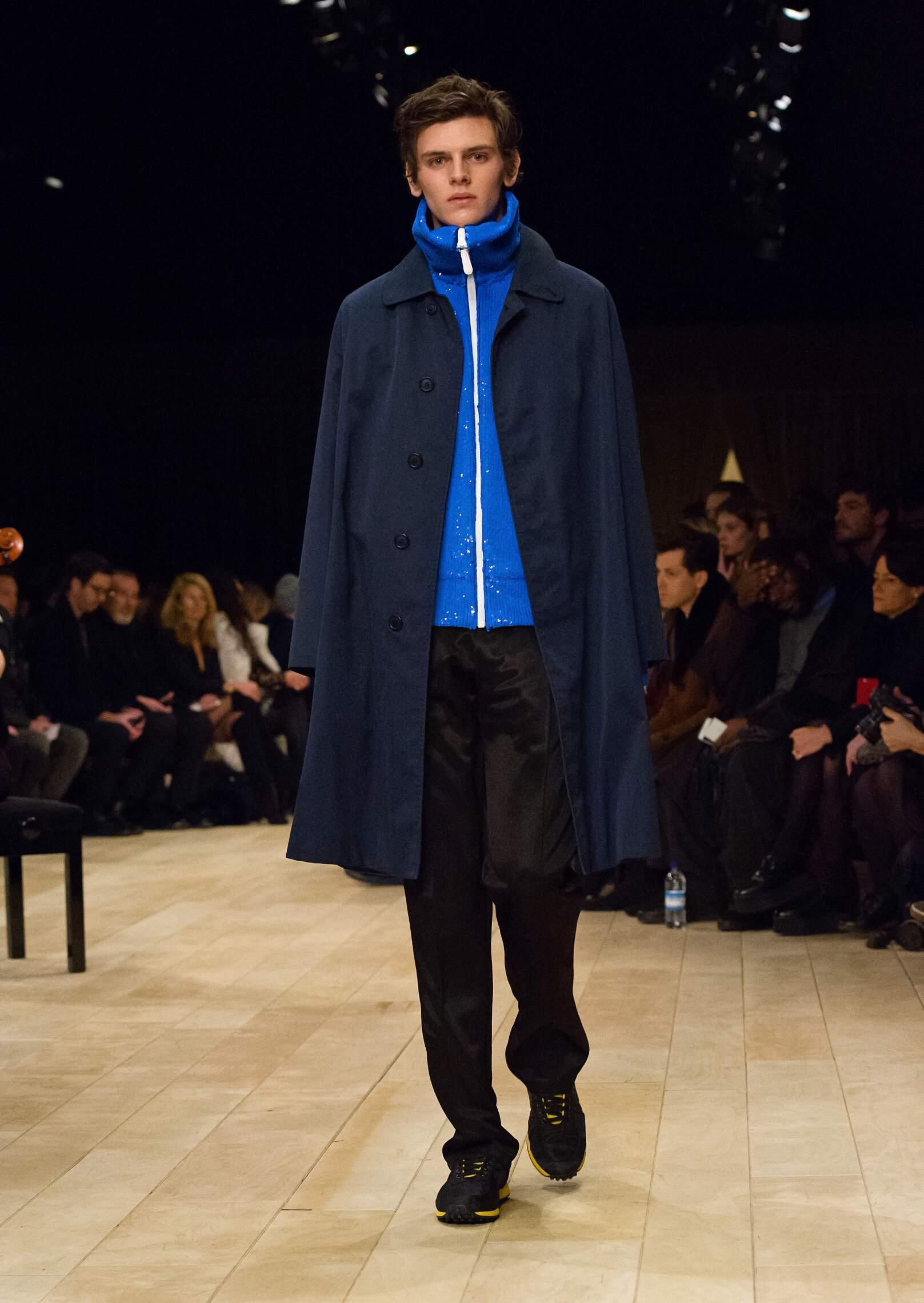 Menswear Fall Winter Burberry 2016 2017