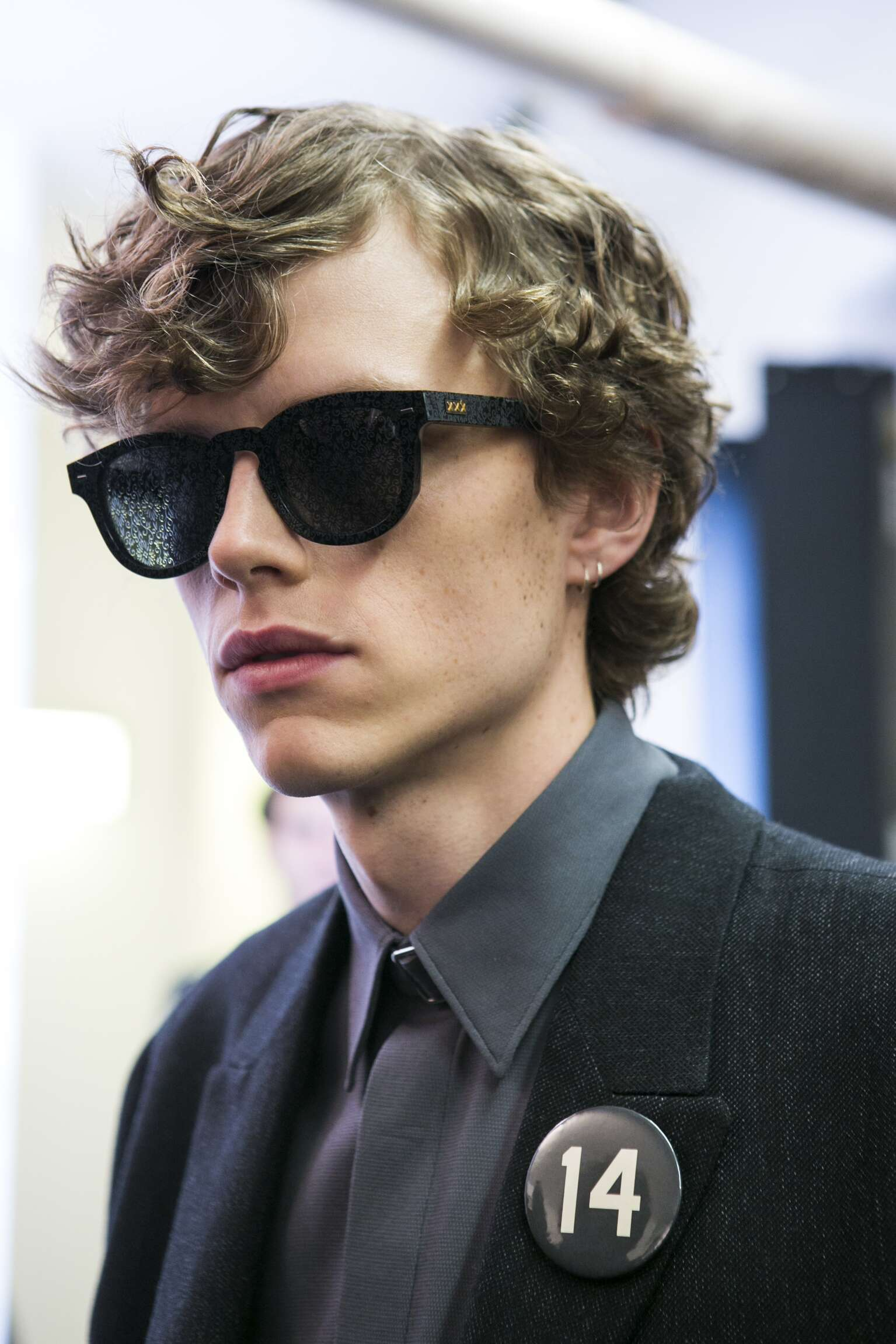 Model Backstage Ermenegildo Zegna Couture Milan