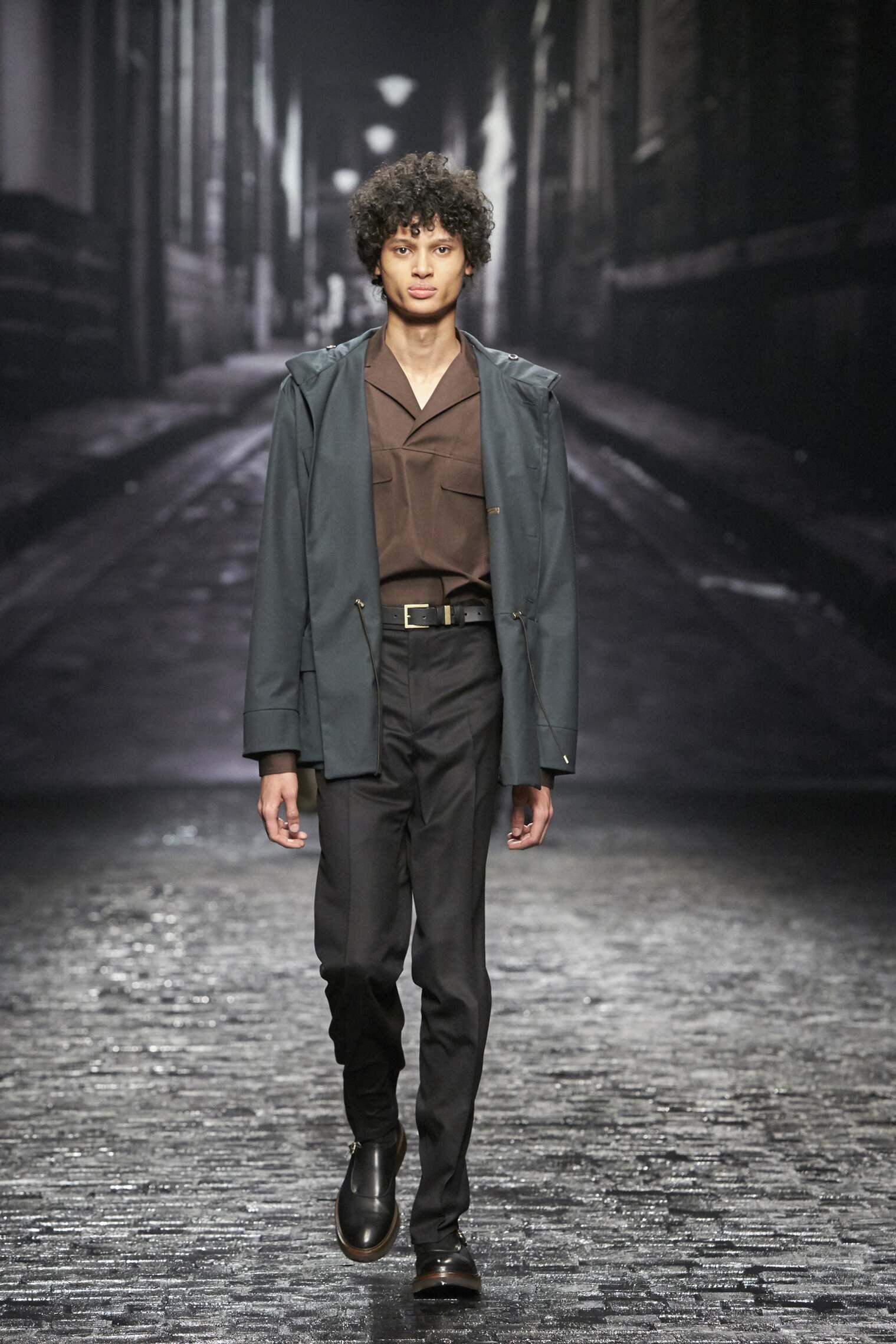 Model Fashion Show Corneliani