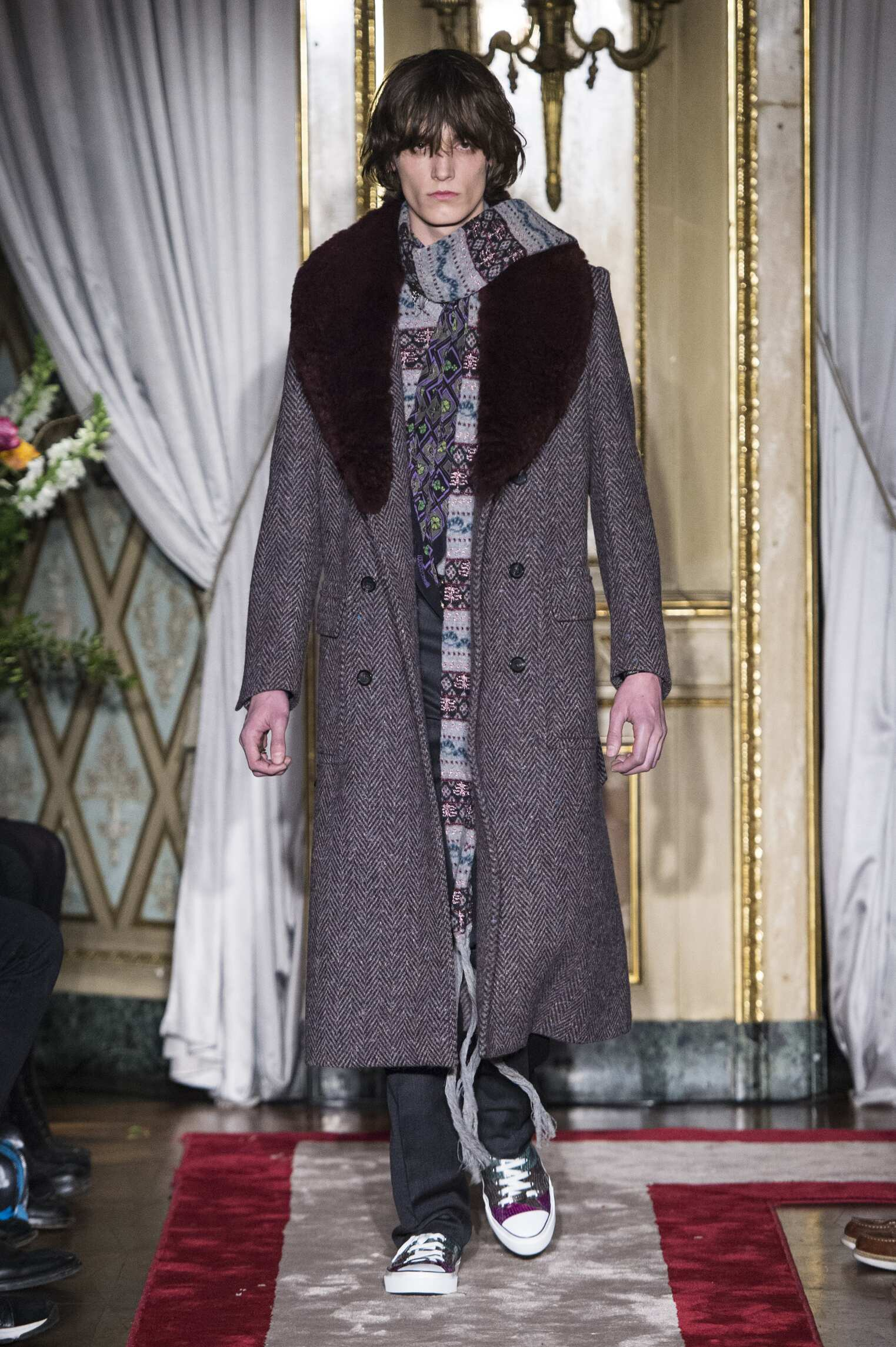 Roberto Cavalli Fall Winter 2016 Mens Collection Milan Fashion Week