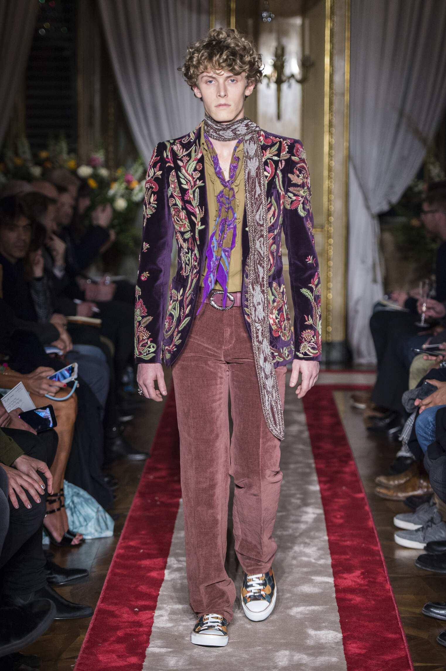 Roberto Cavalli Milan Fashion Week Menswear