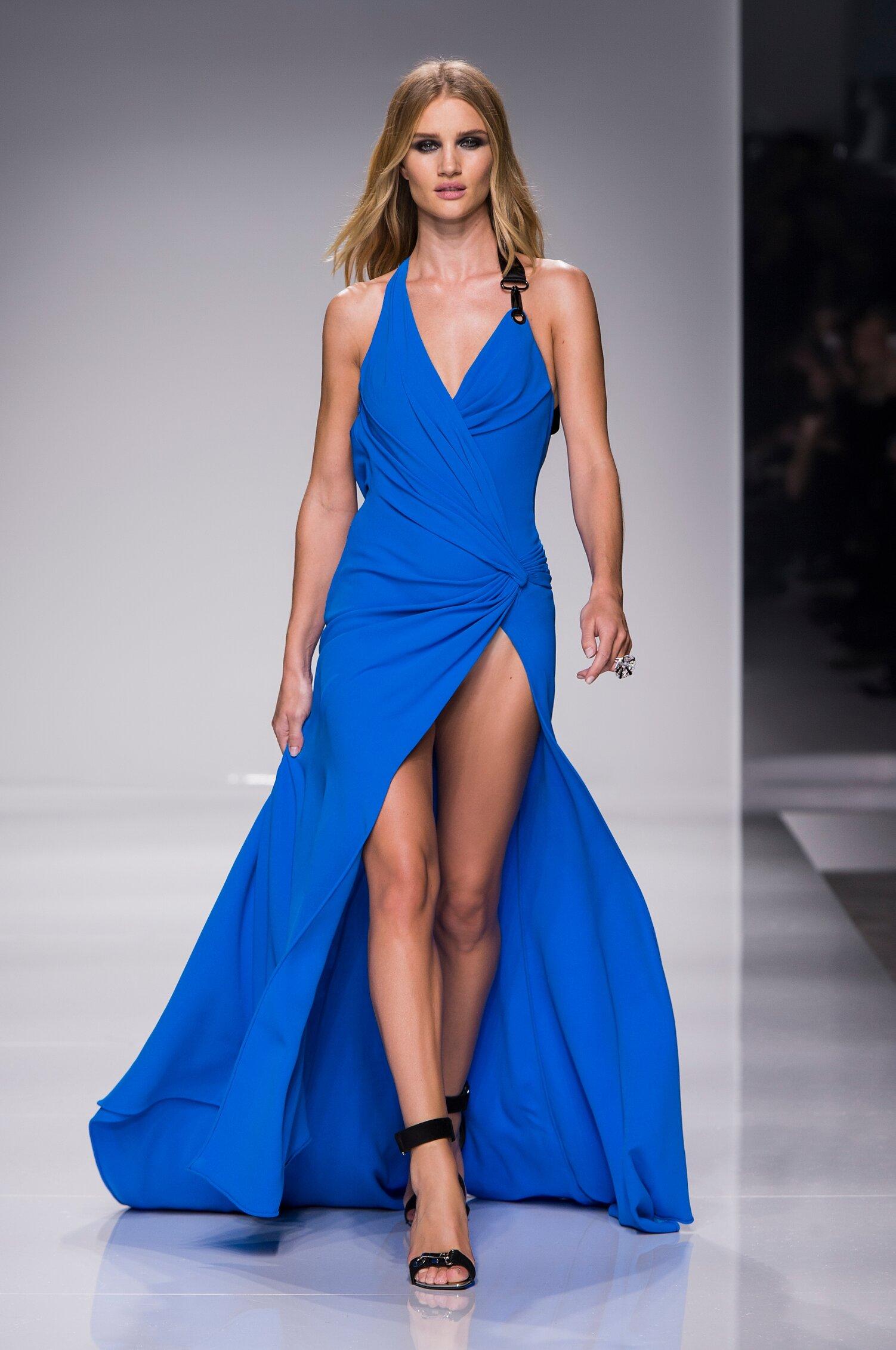 Runway Atelier Versace Couture Spring Summer 2016 Women's Collection Paris Fashion Week