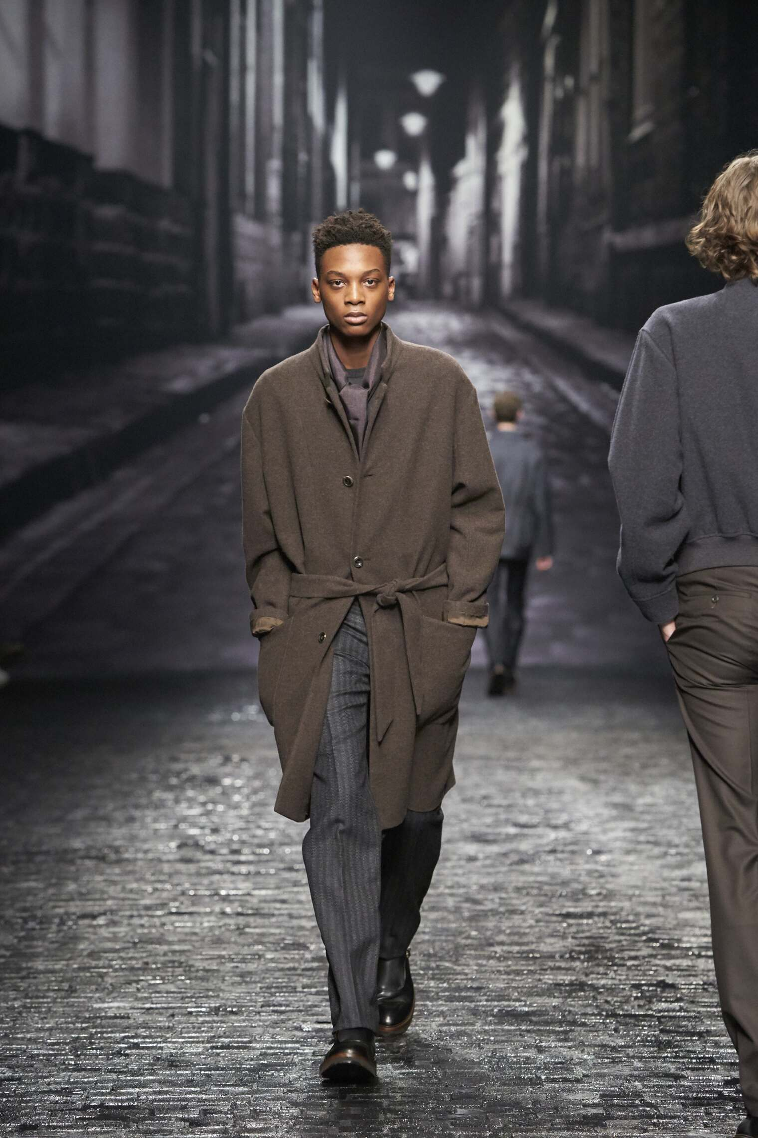 Runway Corneliani Fall Winter 2016 Men's Collection Milan Fashion Week