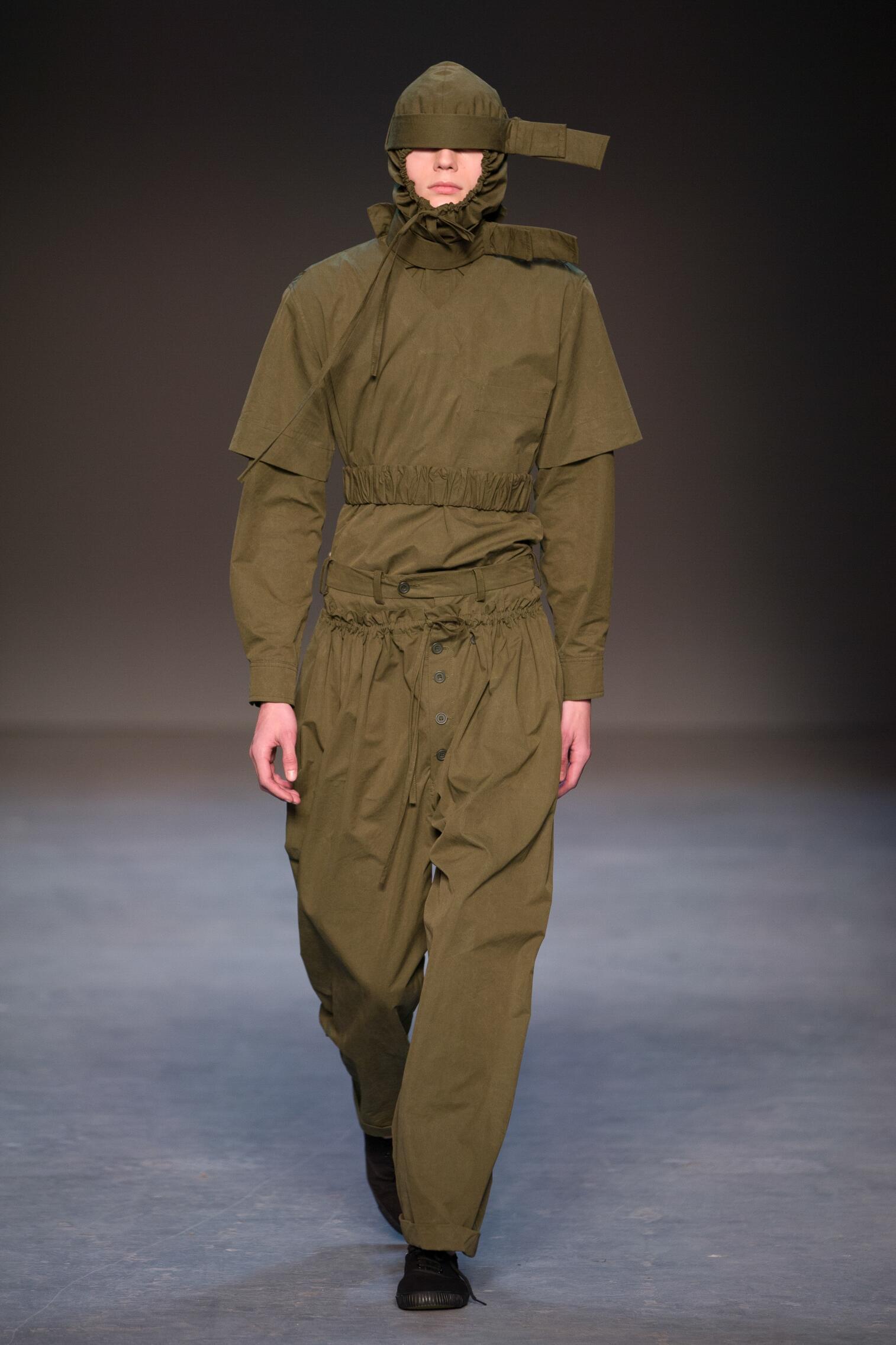Runway Craig Green Fall Winter 2016 Men's Collection London Fashion Week