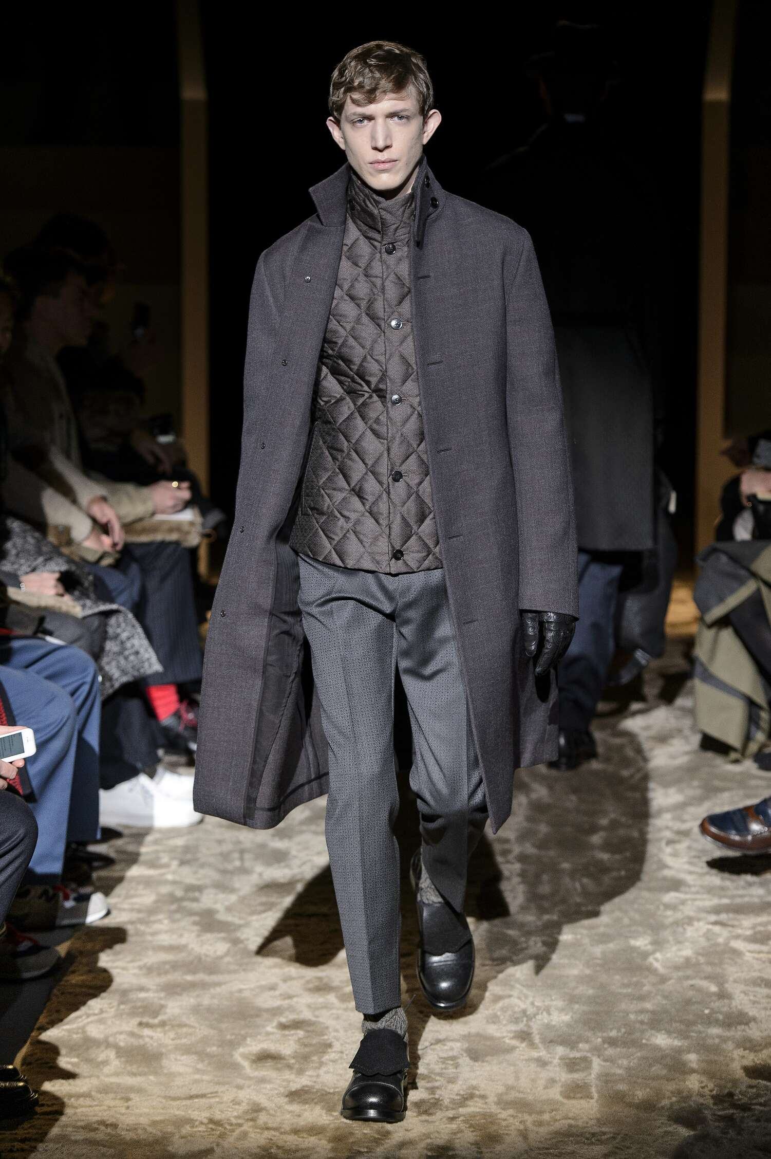 Runway Ermenegildo Zegna Couture Fall Winter 2016 Men's Collection Milan Fashion Week