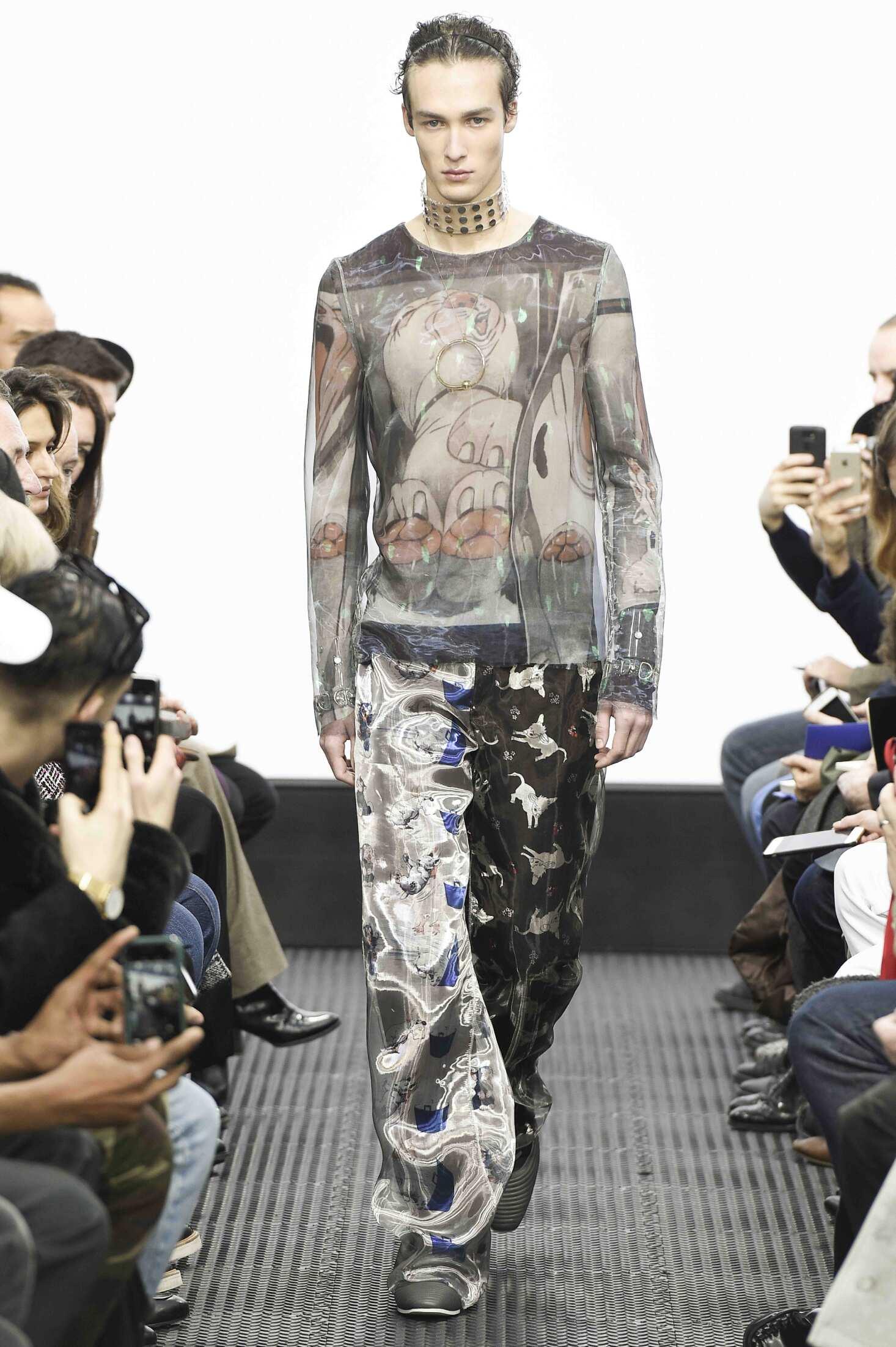 Runway J.W. Anderson Fall Winter 2016 Men's Collection London Fashion Week